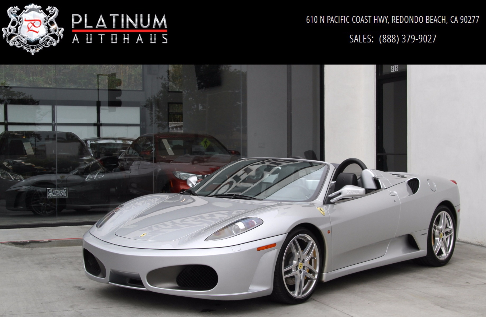 Free Vehicle History Report By Vin >> 2006 Ferrari F430 Spider F1 Stock # 5654A for sale near ...