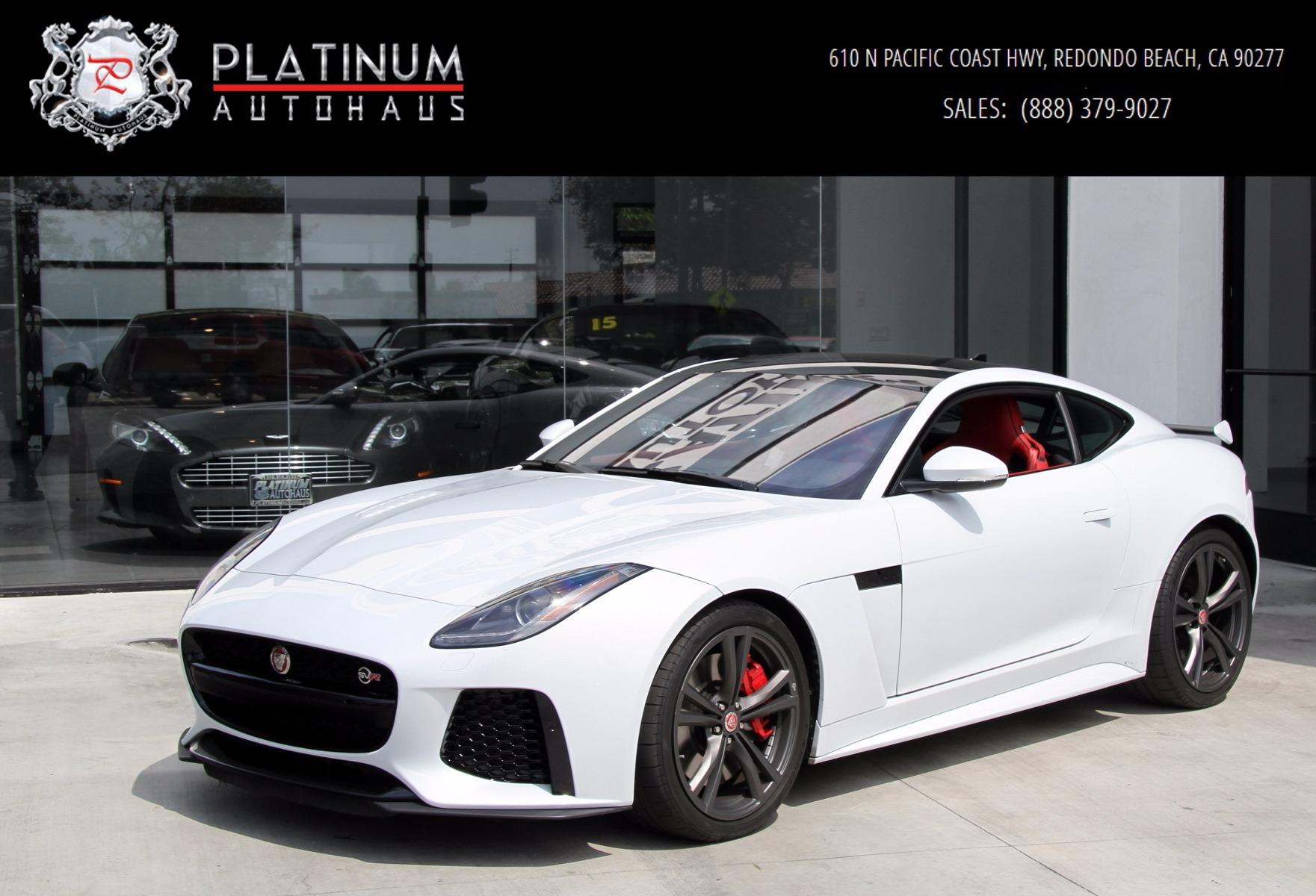 2017 jaguar f-type svr ** msrp $133,669 ** stock # k41723 for sale