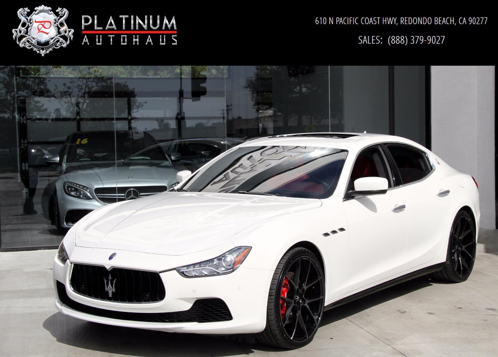 Pacific Auto Center >> 2016 Maserati Ghibli S Stock # 5994 for sale near Redondo ...