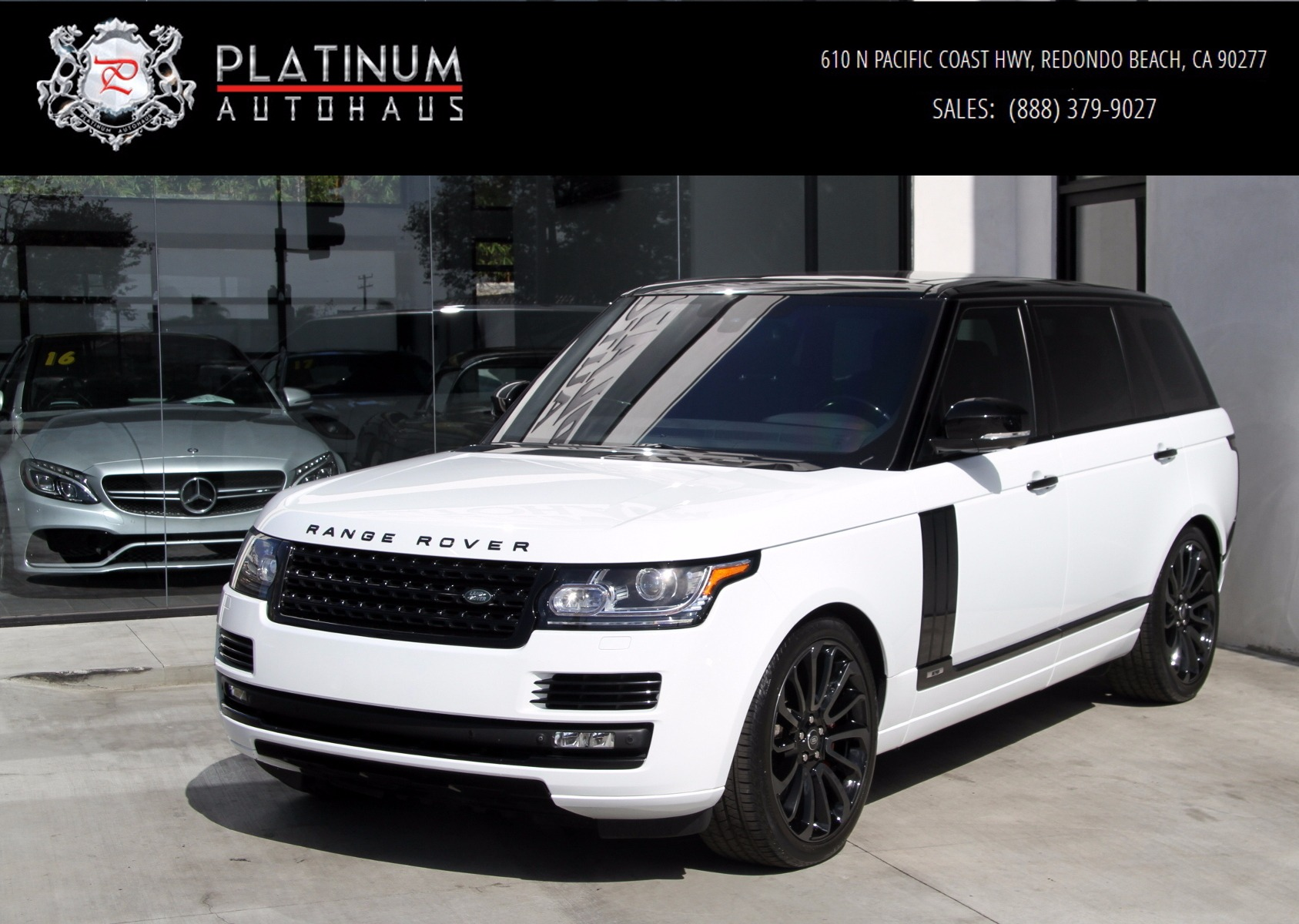 Range Rover Used >> 2015 Land Rover Range Rover Supercharged Long Wheel Base