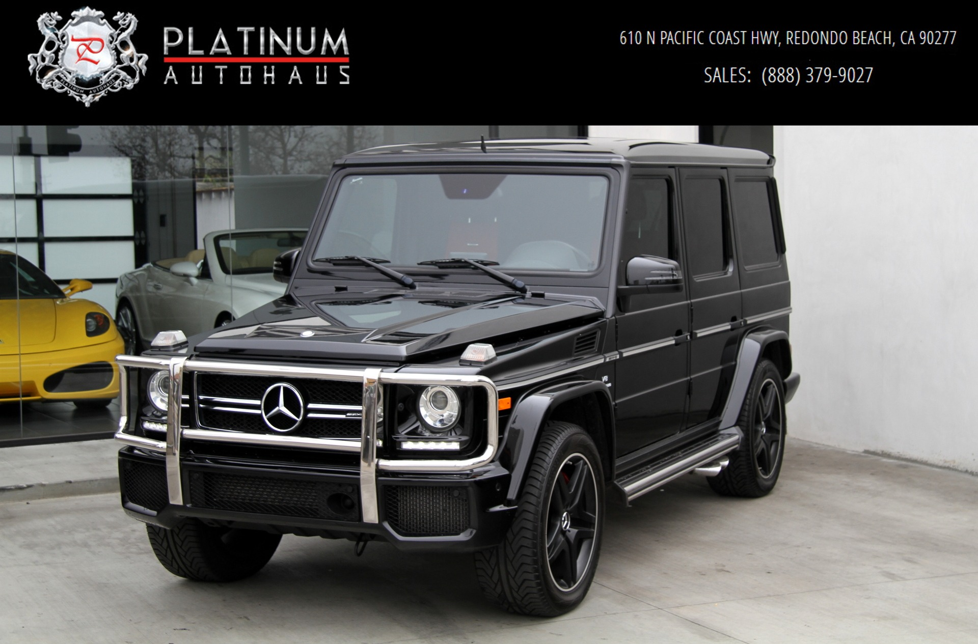 Used 2017 Mercedes Benz G63 Amg 4matic Diamond Sched Seats G