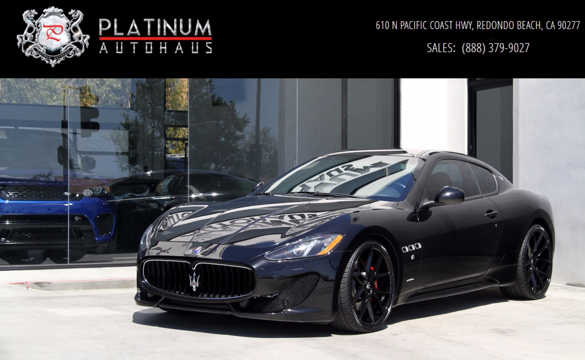 2013 Maserati GranTurismo Sport Stock # 6016A for sale near Redondo ...