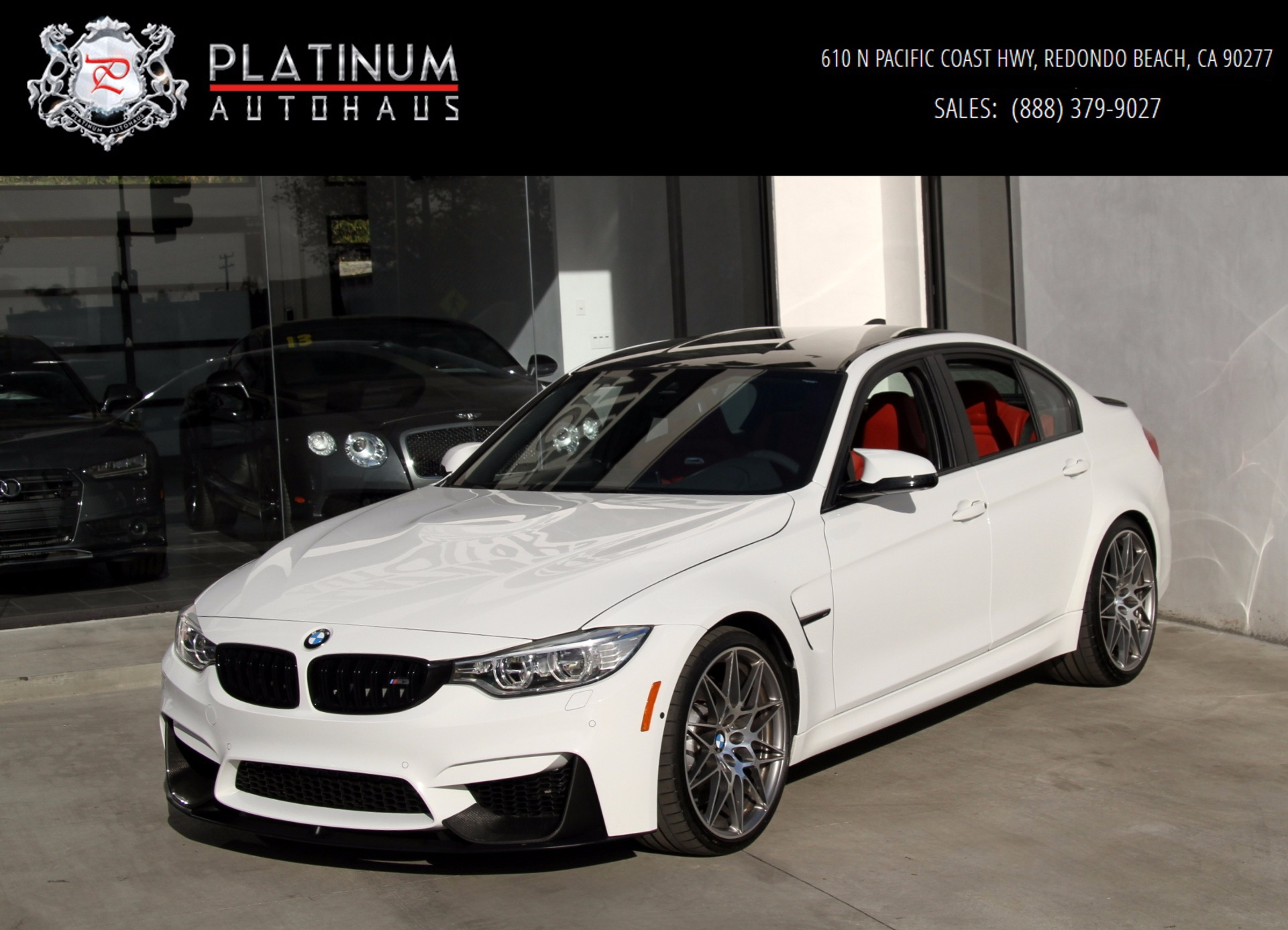 2016 Bmw M3 Competition Package Stock 6058 For