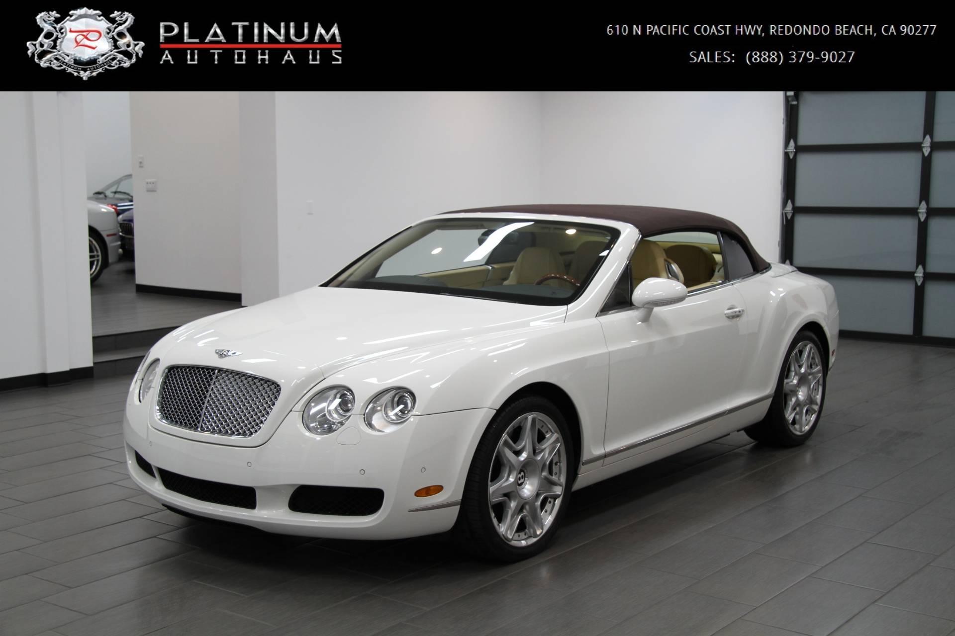 2007 Bentley Continental Gtc Magnolia Interior Stock 5968a For Sale Near Redondo Beach Ca Ca Bentley Dealer