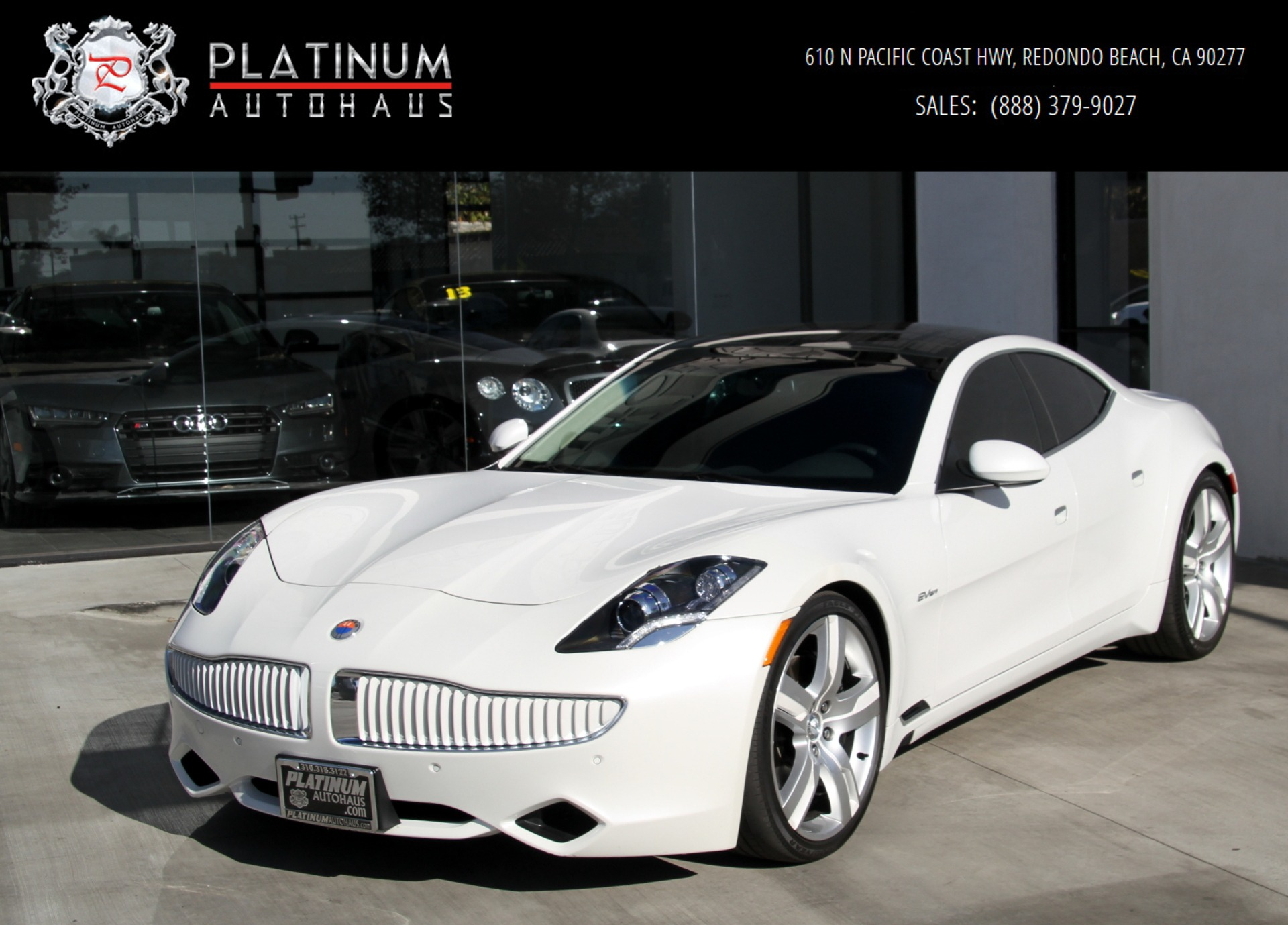2012 Fisker Karma Ecostandard Stock 6020a For Sale Near