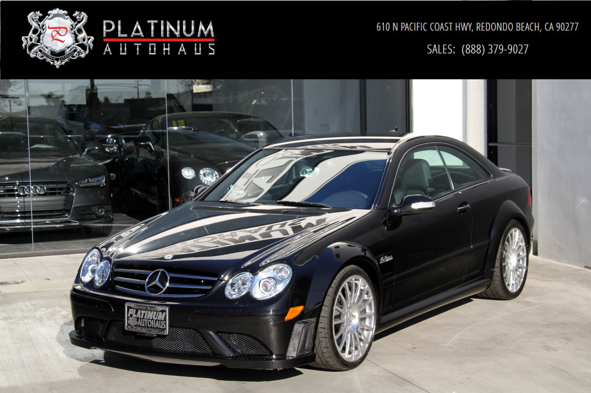 2008 Mercedes Benz Clk 63 Amg Black Series Stock 6069 For
