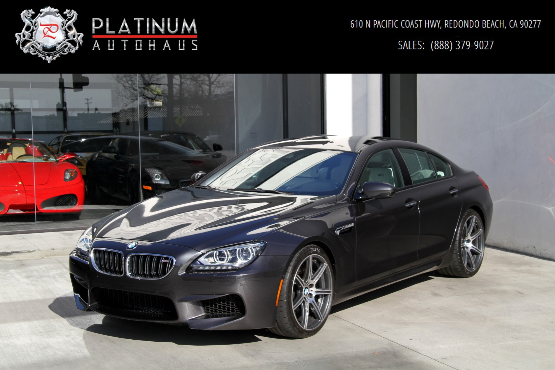 2015 Bmw M6 Gran Coupe Competition Pkg Stock 6075 For Sale Near Redondo Beach Ca Ca Bmw Dealer