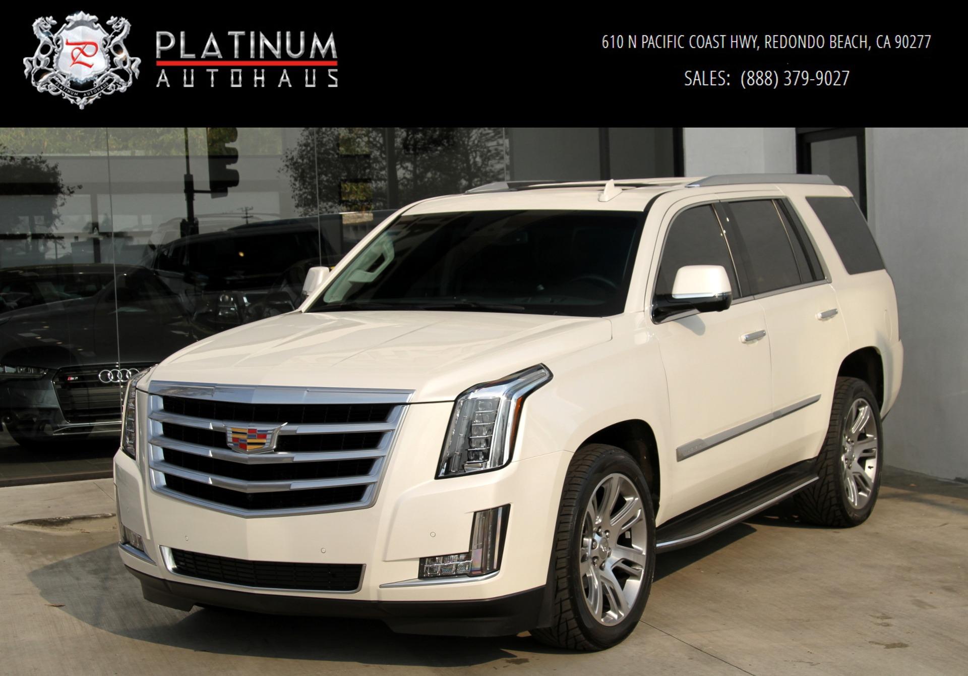 Used 2015 Escalade For Sale >> 2015 Cadillac Escalade Luxury Stock 6080 For Sale Near Redondo