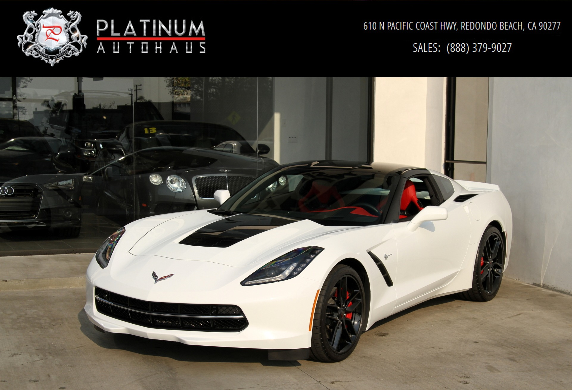 2016 Chevrolet Corvette Stingray Z51 ONLY 400 MILES Stock