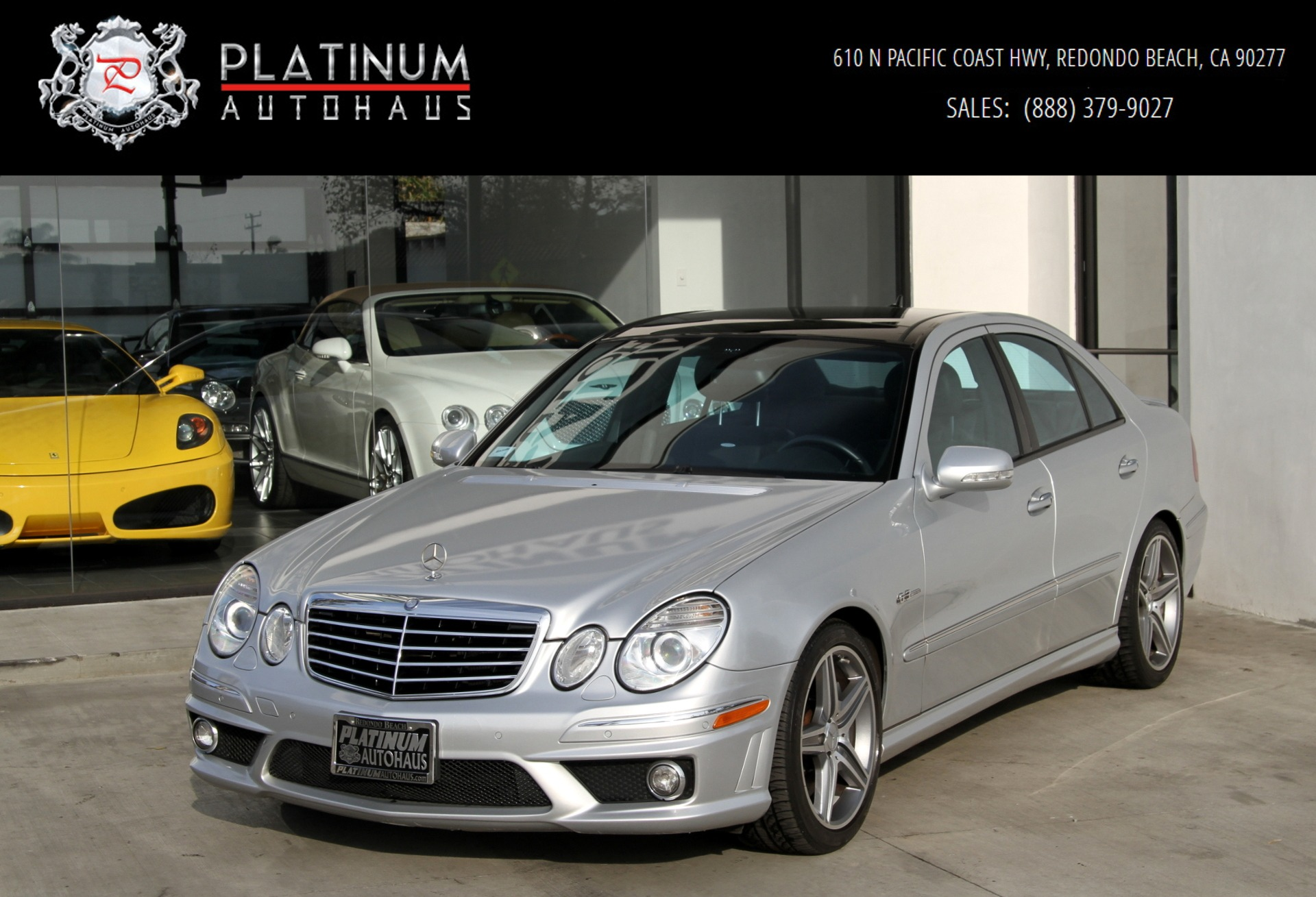 2009 Mercedes-Benz E 63 AMG ** 1 OWNER ** Stock # 6015A for sale ...