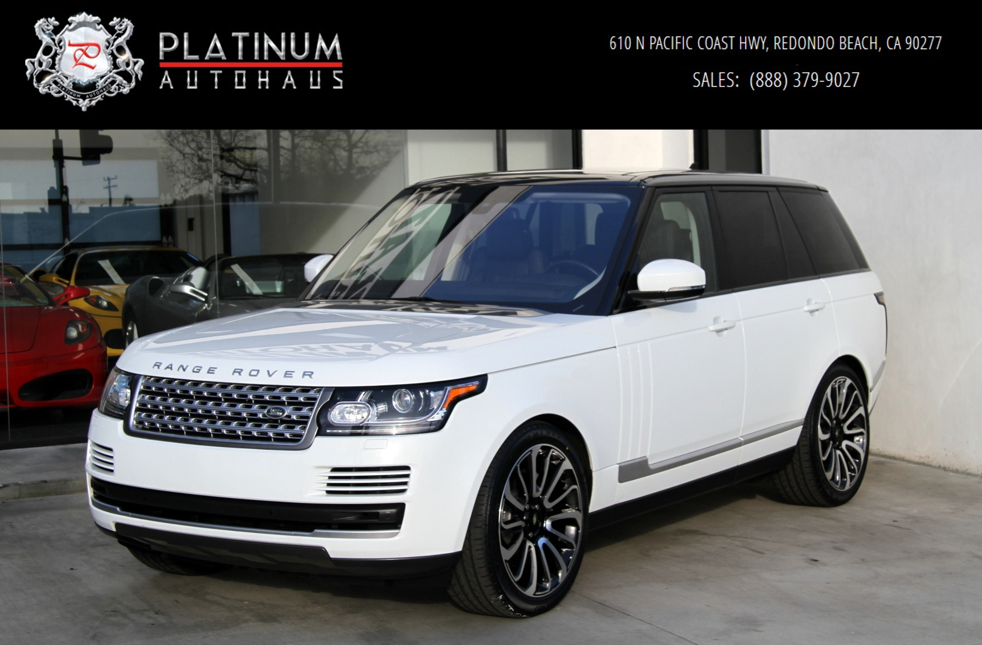 Used Range Rovers For Sale >> 2016 Land Rover Range Rover Hse Stock 6092 For Sale Near Redondo