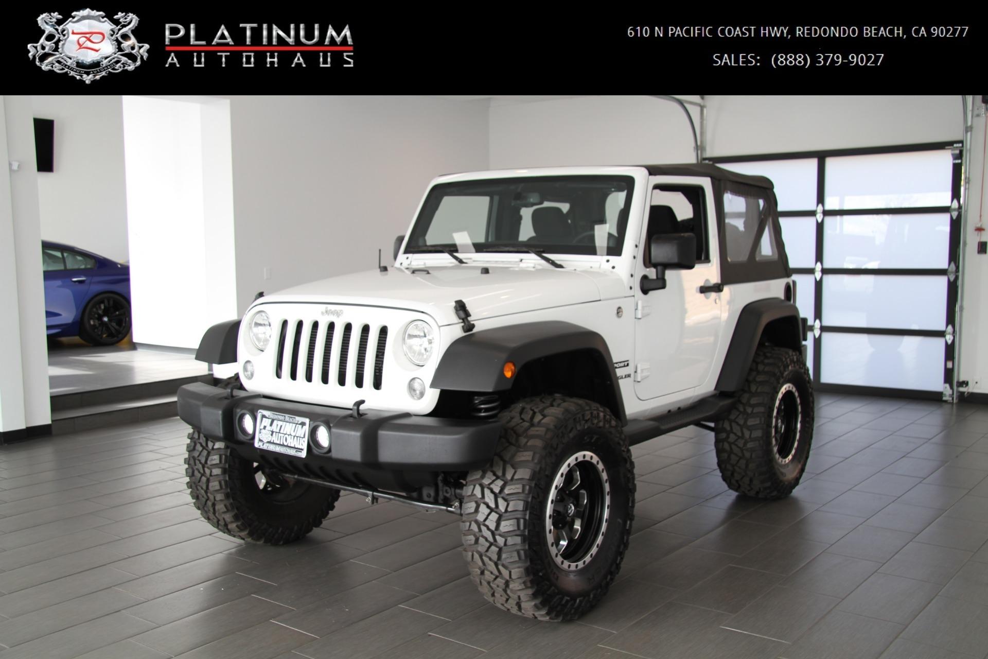 2014 Jeep Wrangler Sport Stock 6081a For Sale Near Redondo Beach Ca Ca Jeep Dealer