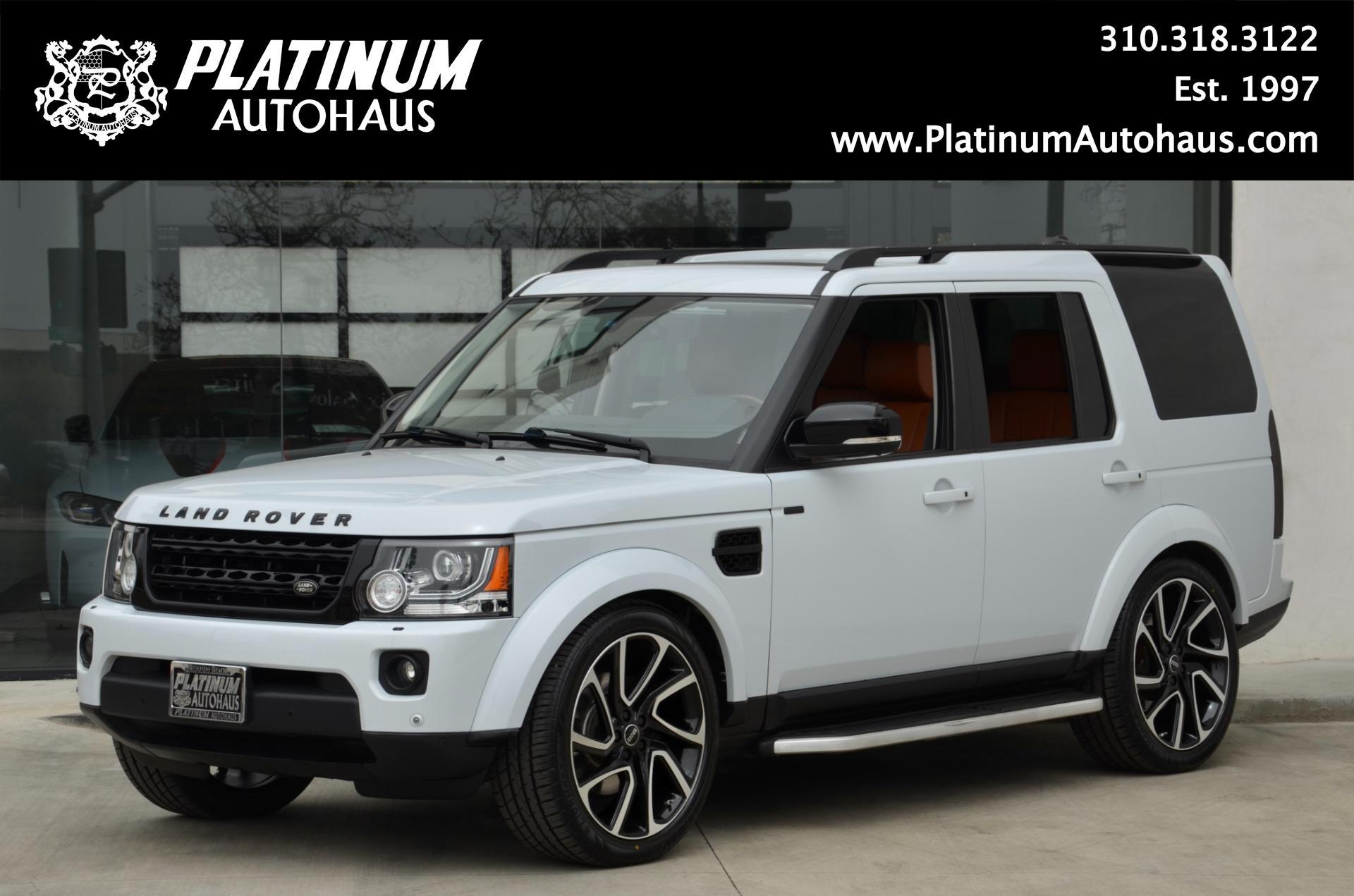 Used 2016 Land Rover Lr4 Hse Lux Landmark Edition