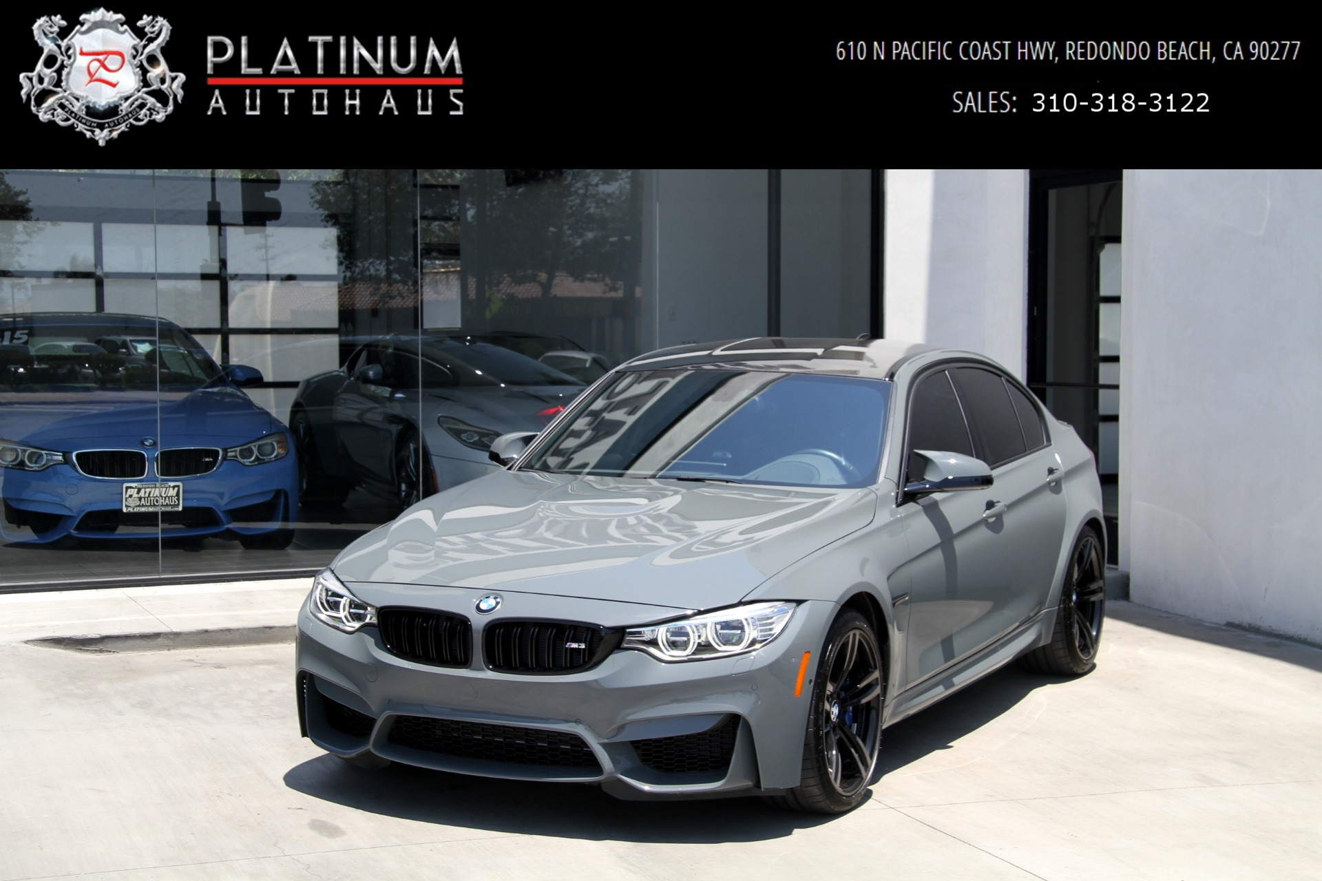 2017 Bmw M3 Competition Package Stock 6230 For Sale Near Redondo Beach Ca Ca Bmw Dealer