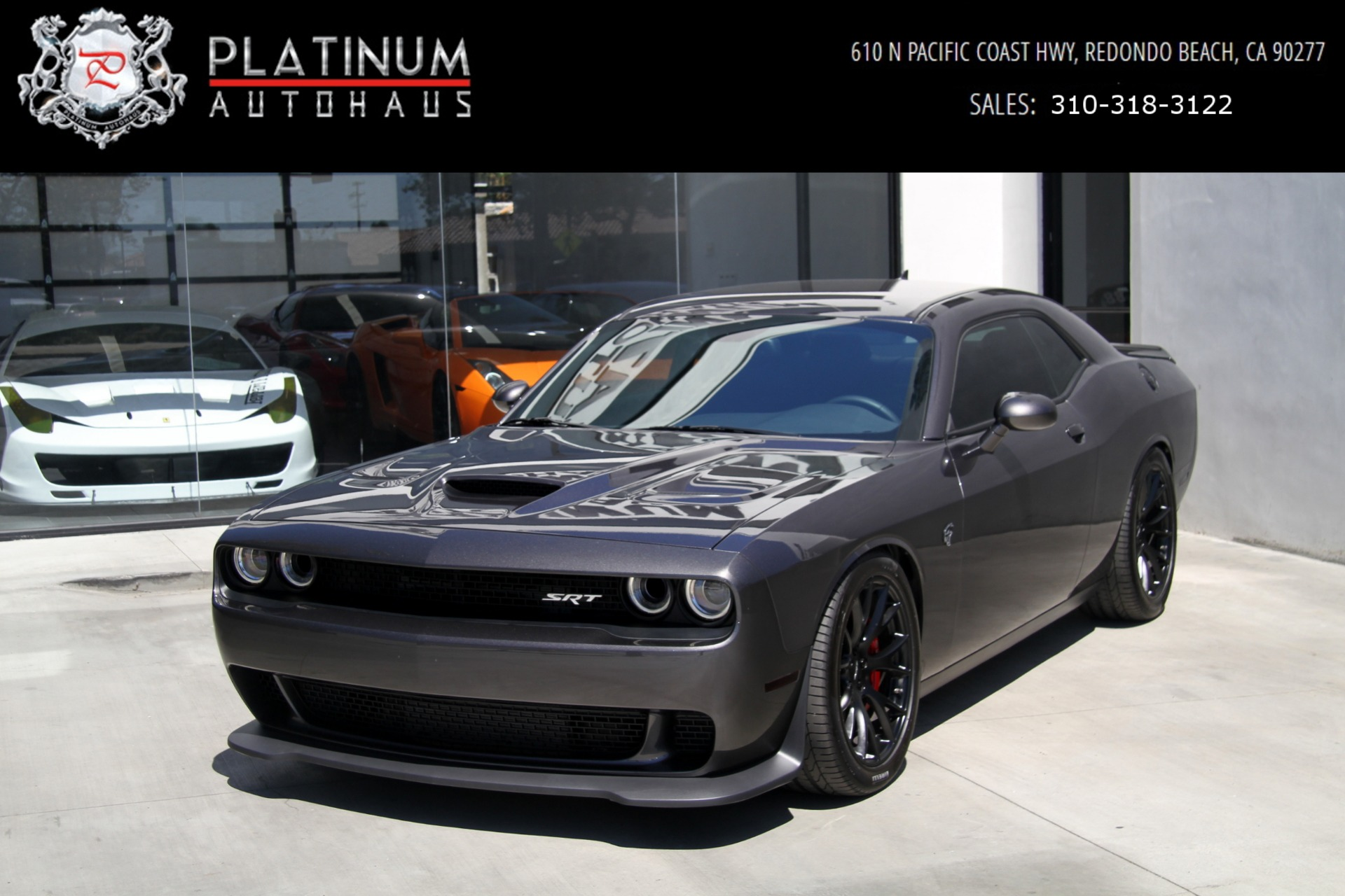 2016 Dodge Challenger Hellcat >> 2016 Dodge Challenger Srt Hellcat Stock 6338 For Sale Near