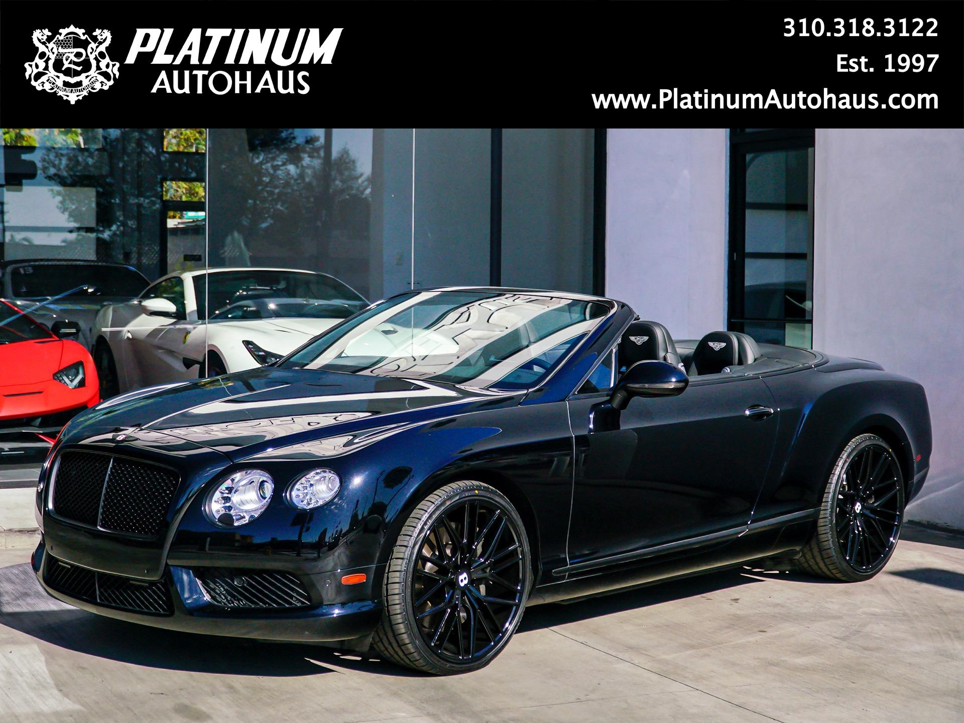 Used 2017 Bentley Continental Gt V8 Mulliner Edition Redondo