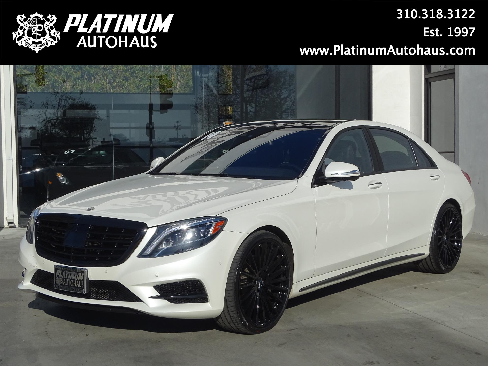 Marvelous ... Used 2014 Mercedes Benz S Class S550 ***AMG Sport Package ...