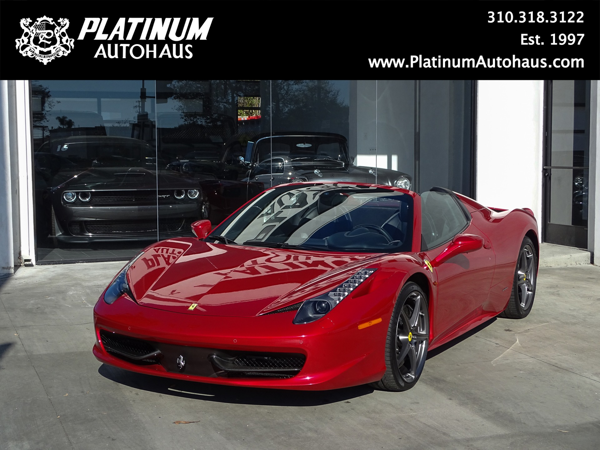 2013 Ferrari 458 Spider Stock 190101 For Sale Near Redondo Beach Ca Ca Ferrari Dealer