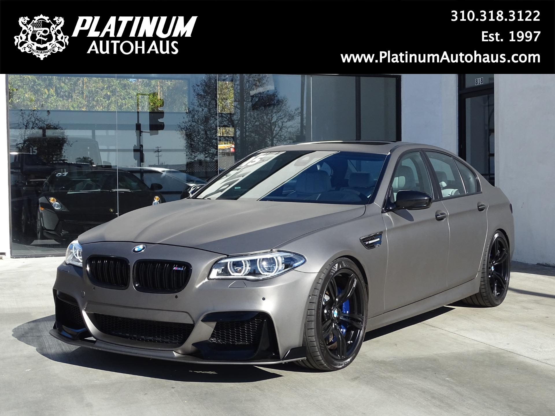 2015 Bmw M5 Competition Package Stock 6191b For Sale Near Redondo Beach Ca Ca Bmw Dealer
