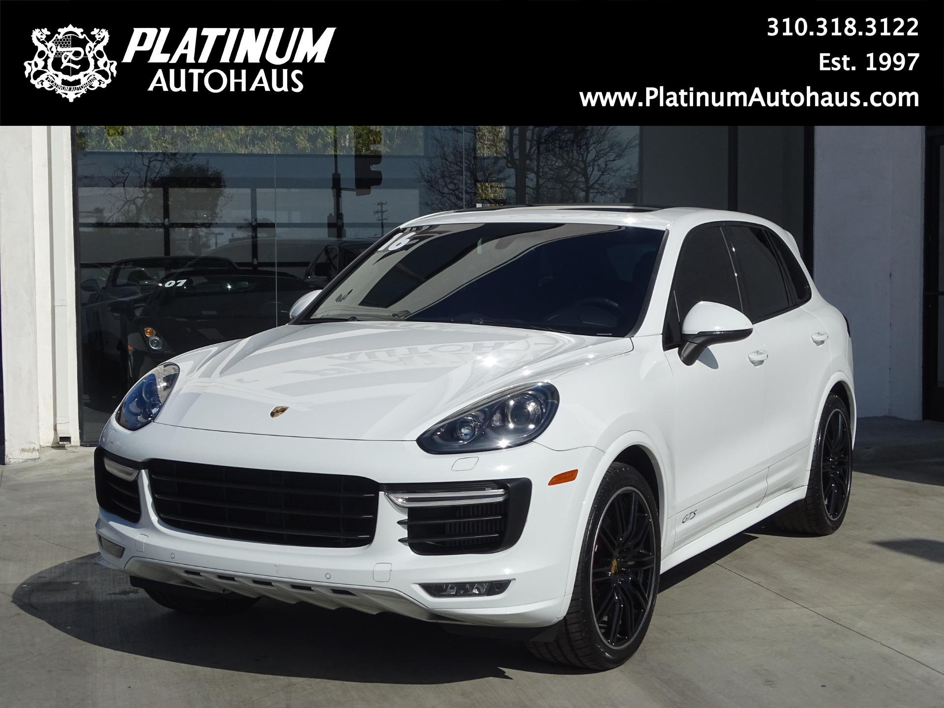 2016 Porsche Cayenne Gts Stock 6360 For Sale Near Redondo