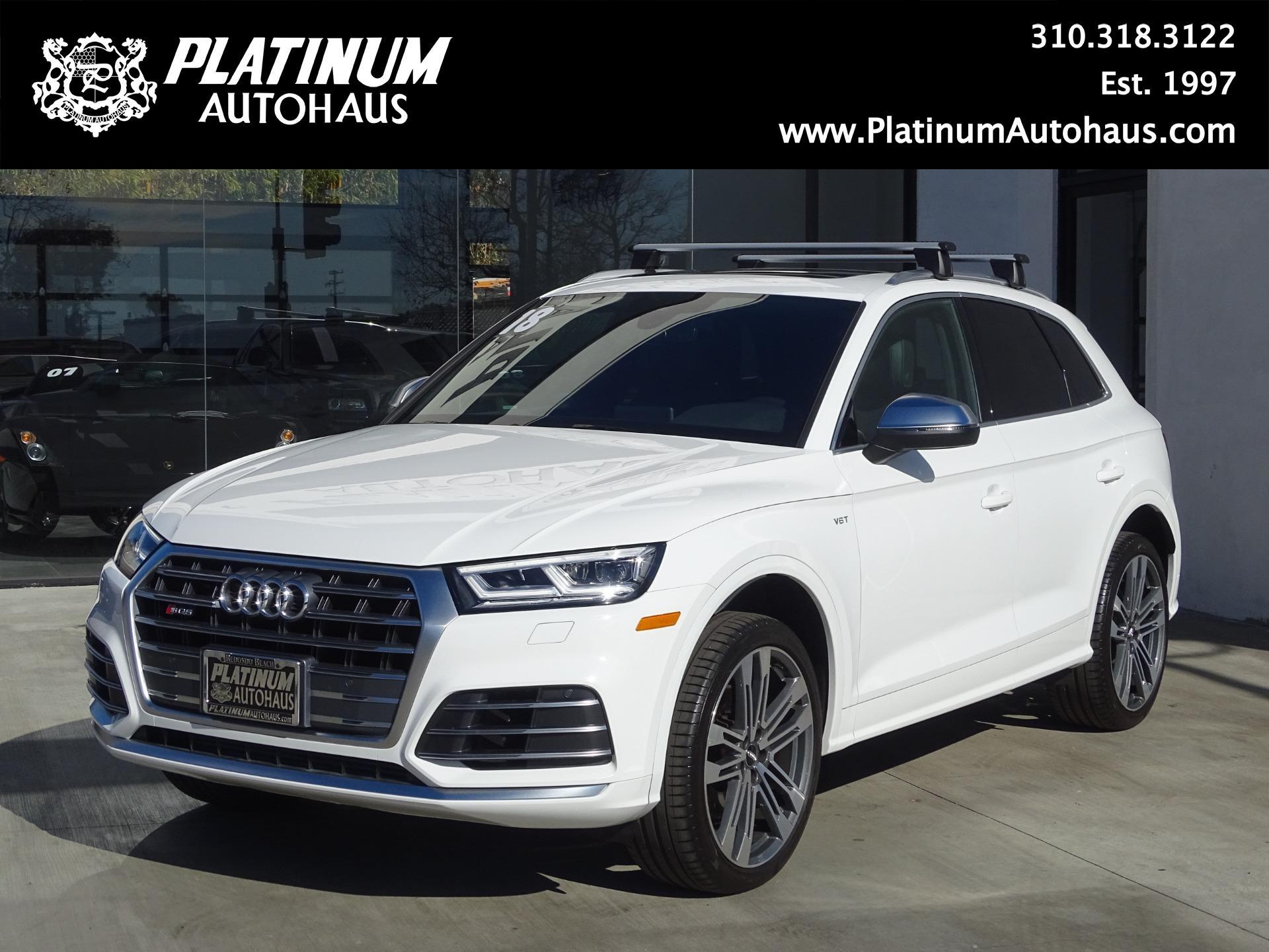 2018 Audi SQ5 3.0T Quattro Premium Plus Stock # 6380 For