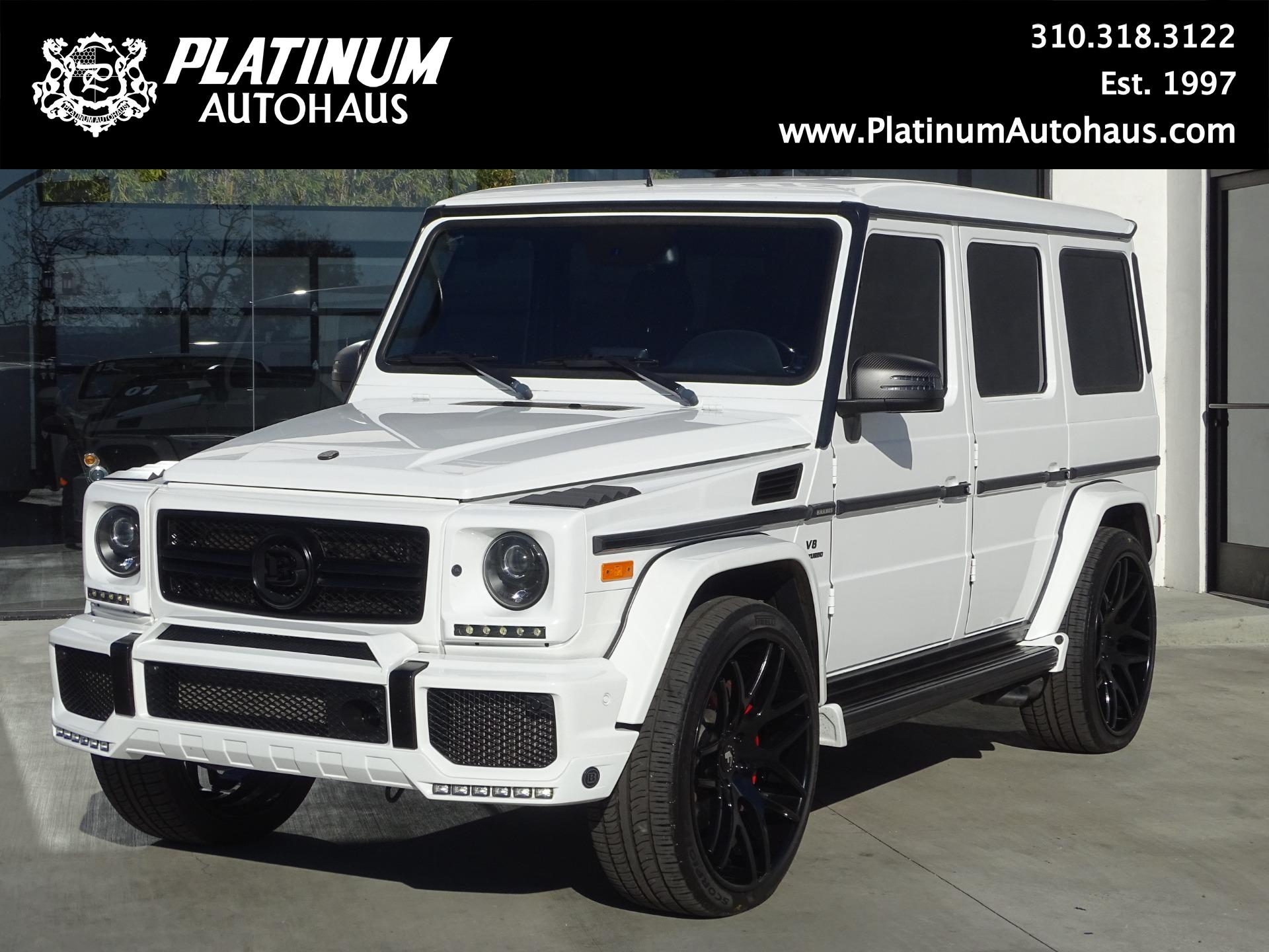 2015 Mercedes Benz G Class G63 Amg Full Brabus Package Stock 6379 For Sale Near Redondo Beach Ca Ca Mercedes Benz Dealer