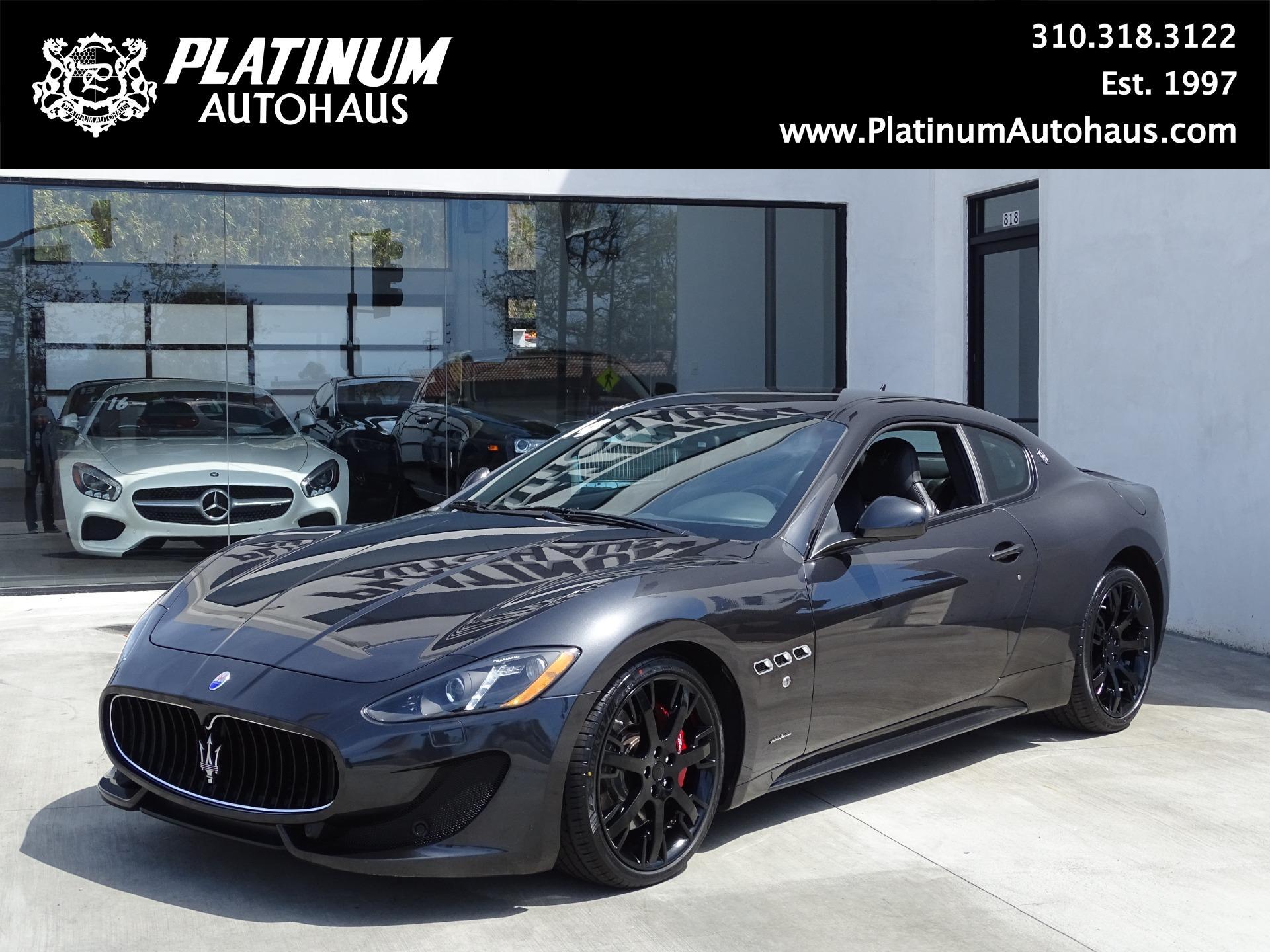 2014 Maserati Granturismo Sport Stock 6458 For Sale Near Redondo Beach Ca Ca Maserati Dealer