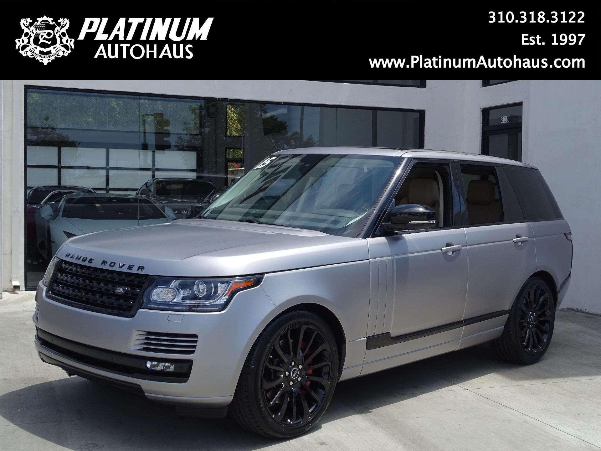 Matte Range Rover >> 2015 Land Rover Range Rover Supercharged Stock 6574 For