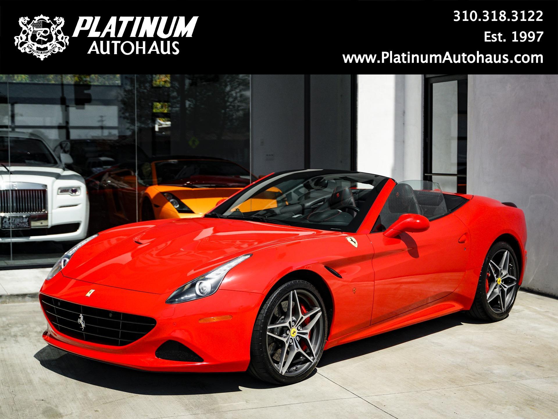 2016 Ferrari California T Stock 216538 For Sale Near Redondo Beach Ca Ca Ferrari Dealer