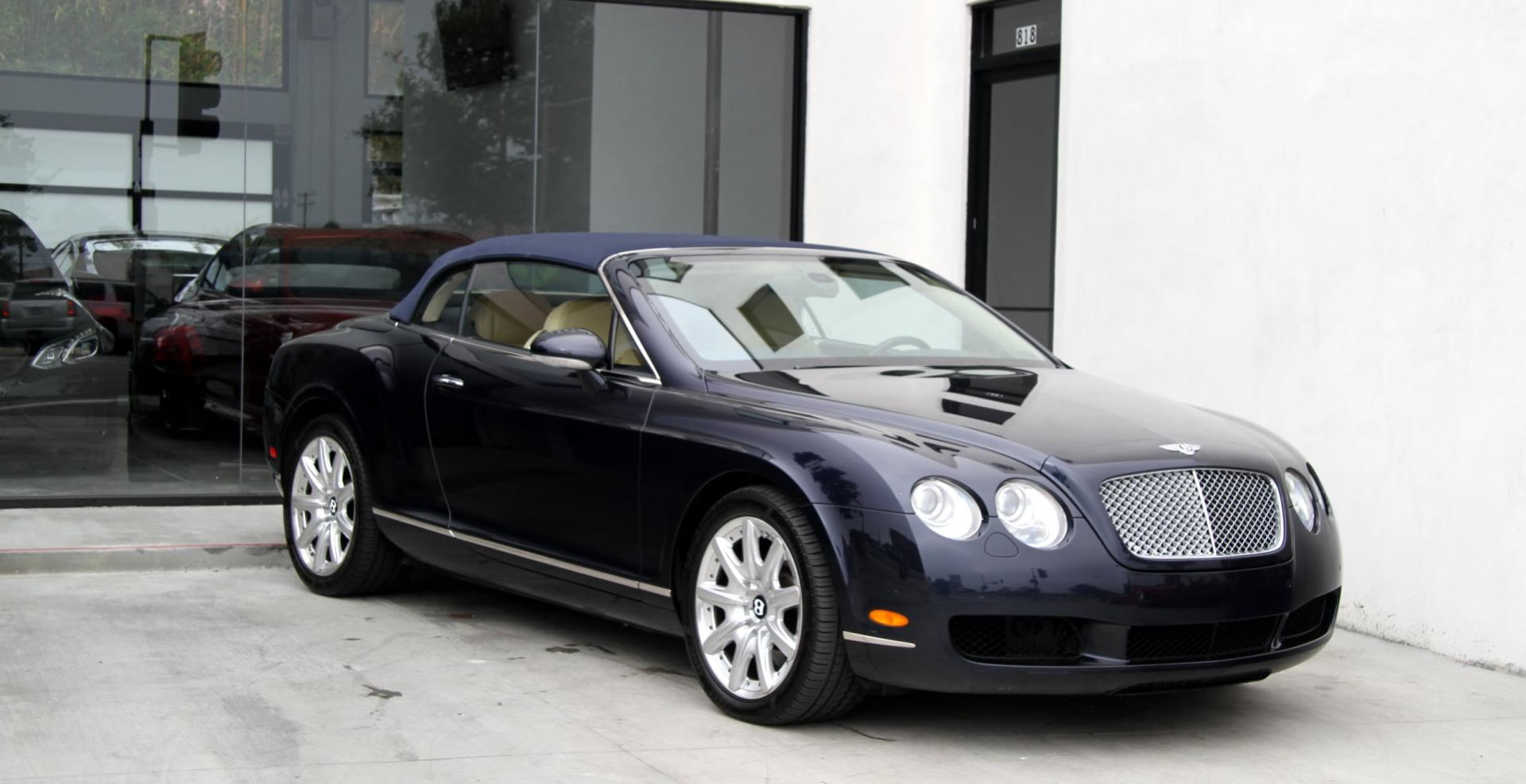 2007 Bentley Continental Gtc    1 Owner    Stock   5870