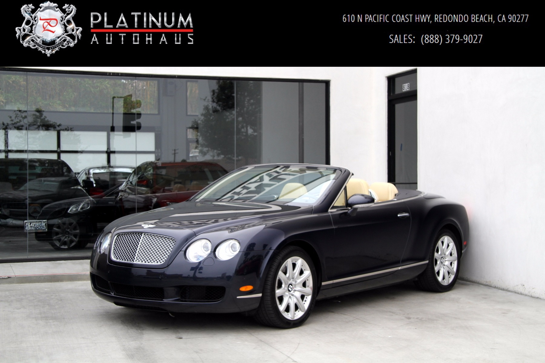2007 bentley continental gtc 1 owner stock 5870 for sale near redondo beach ca ca. Black Bedroom Furniture Sets. Home Design Ideas