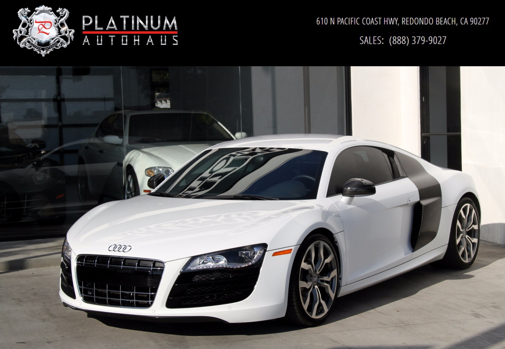 2010 Audi R8 V-10 5.2 Stock # 5977 for sale near Redondo Beach, CA | CA Audi Dealer