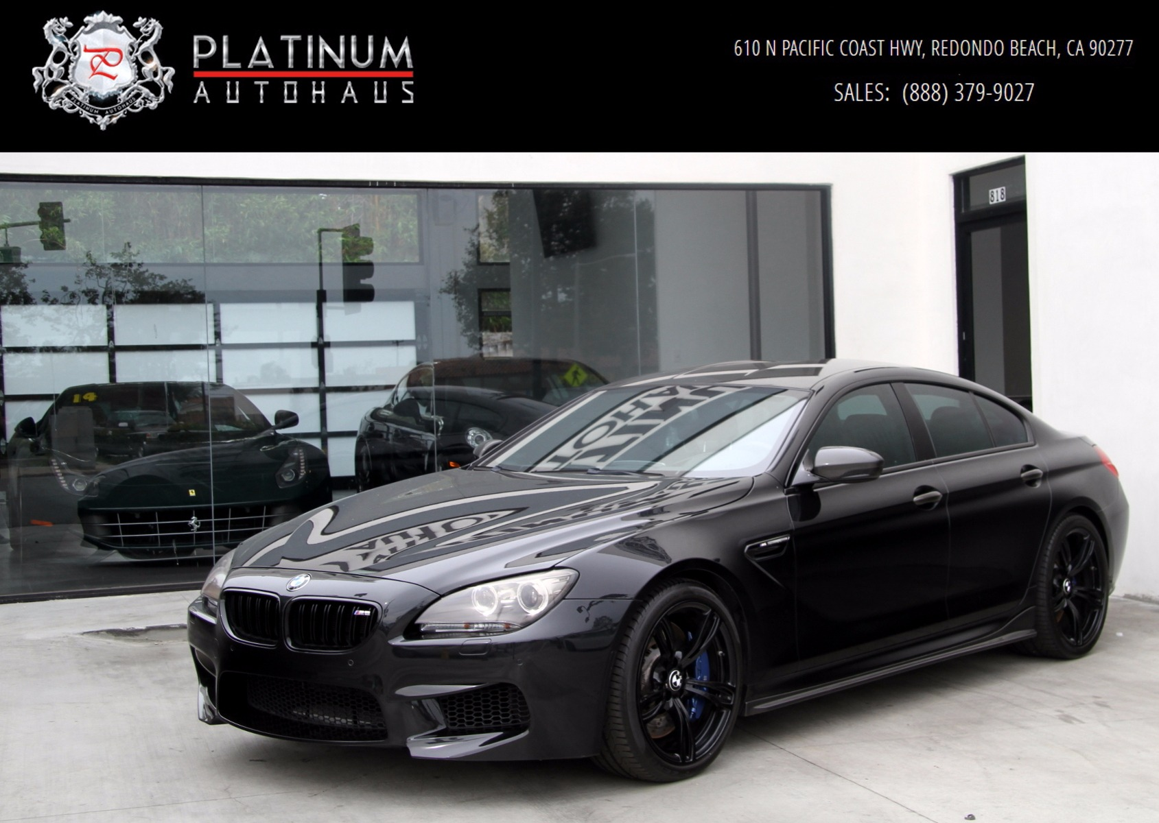 Bmw Dealership Near Me >> 2014 BMW M6 Gran Coupe Stock # 5581 for sale near Redondo Beach, CA | CA BMW Dealer