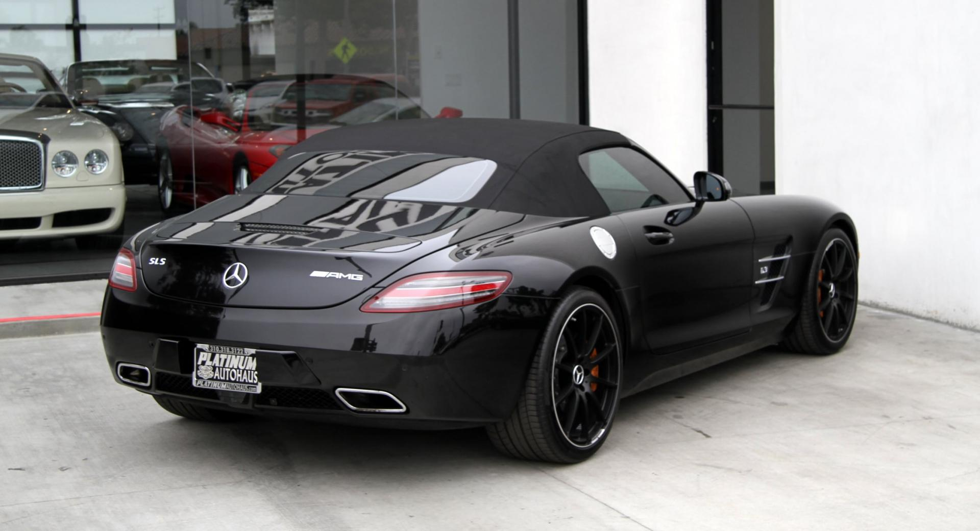 2012 mercedes benz sls 63 amg stock 5903 for sale near. Black Bedroom Furniture Sets. Home Design Ideas