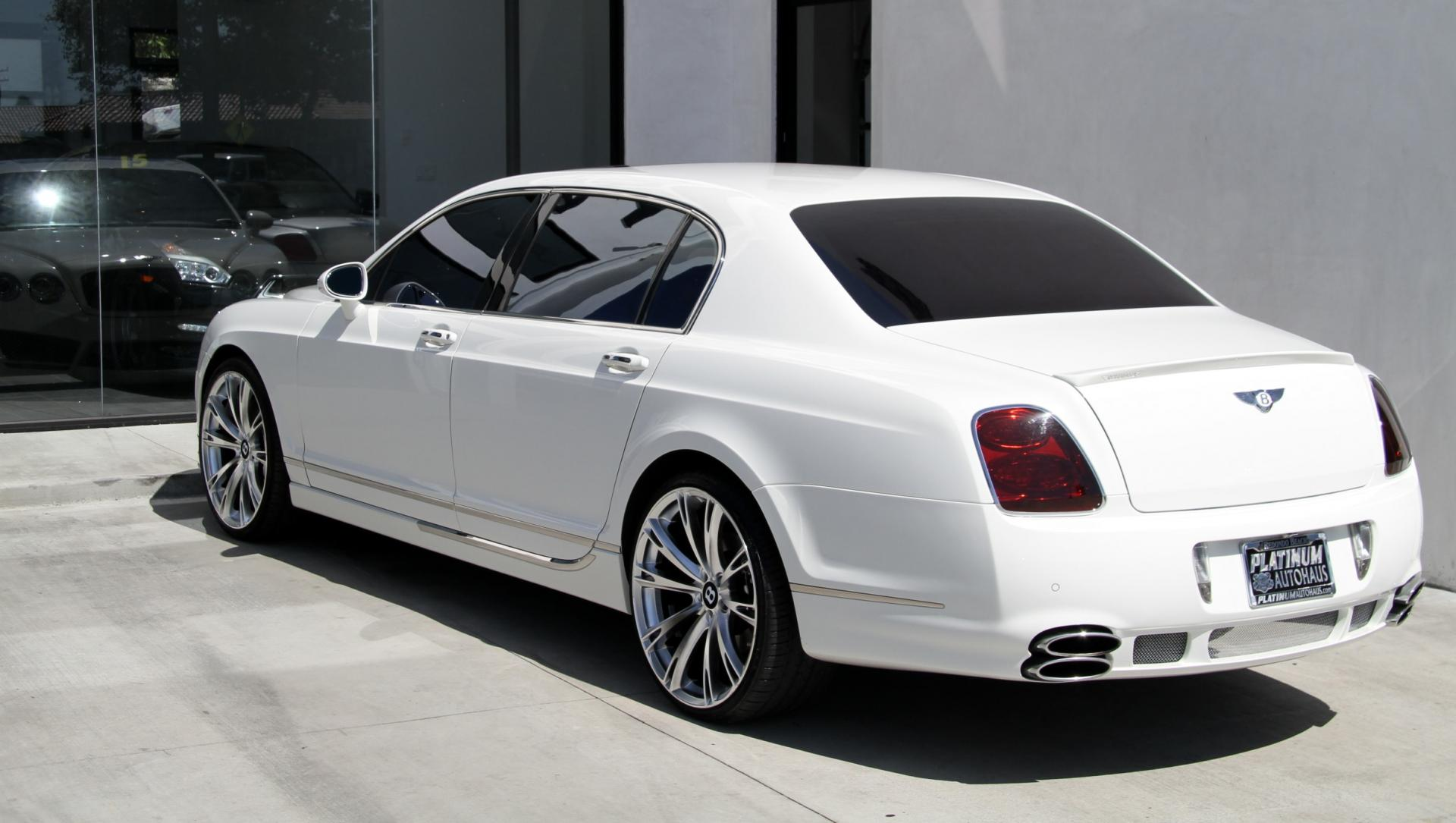 2009 Bentley Continental Flying Spur Speed Mansory Edition Stock 5874a For Sale Near Redondo Beach Ca Ca Bentley Dealer