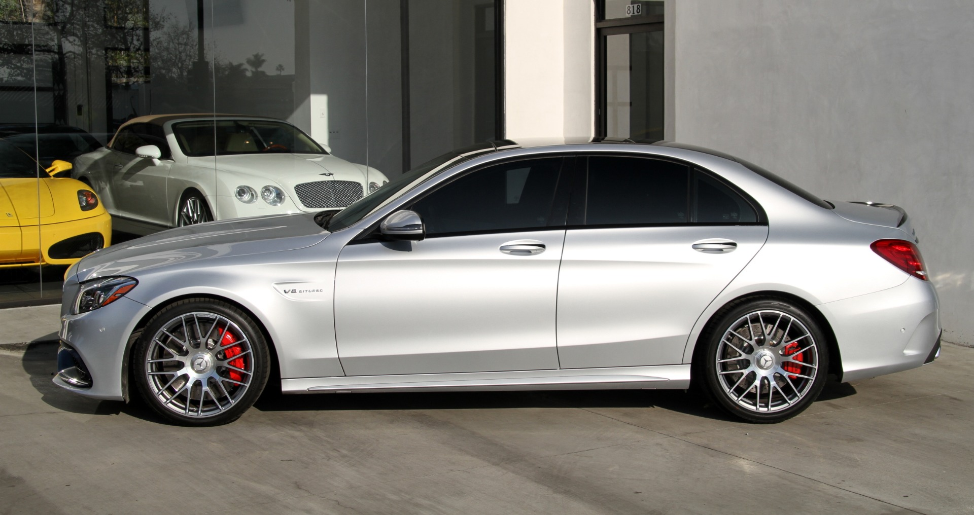 Ca Used 2016 Mercedes Benz C63 S Amg