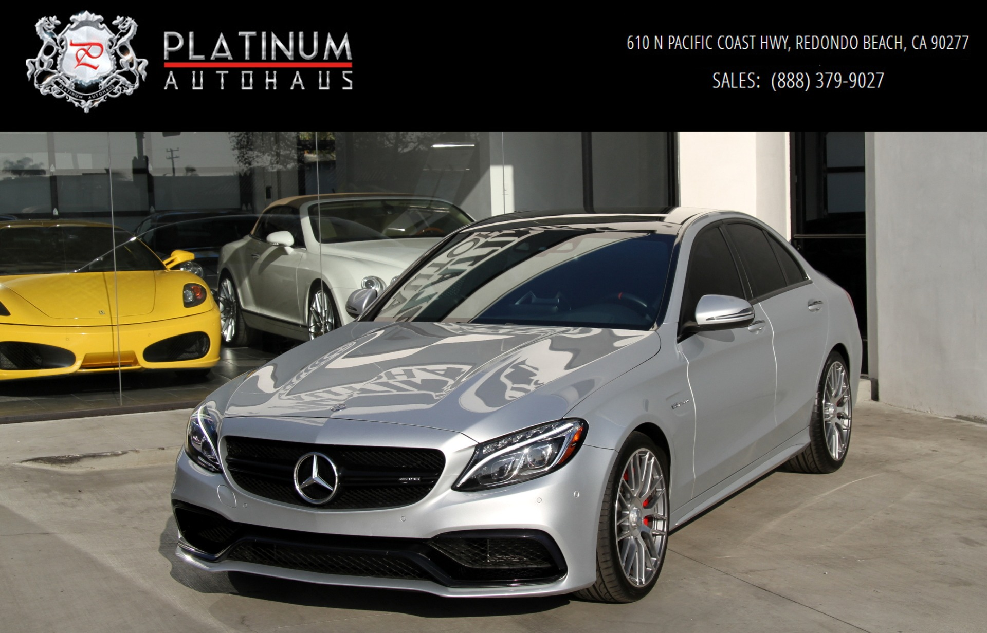 2016 mercedes benz c63 s amg stock 6004 for sale near for Used mercedes benz near me