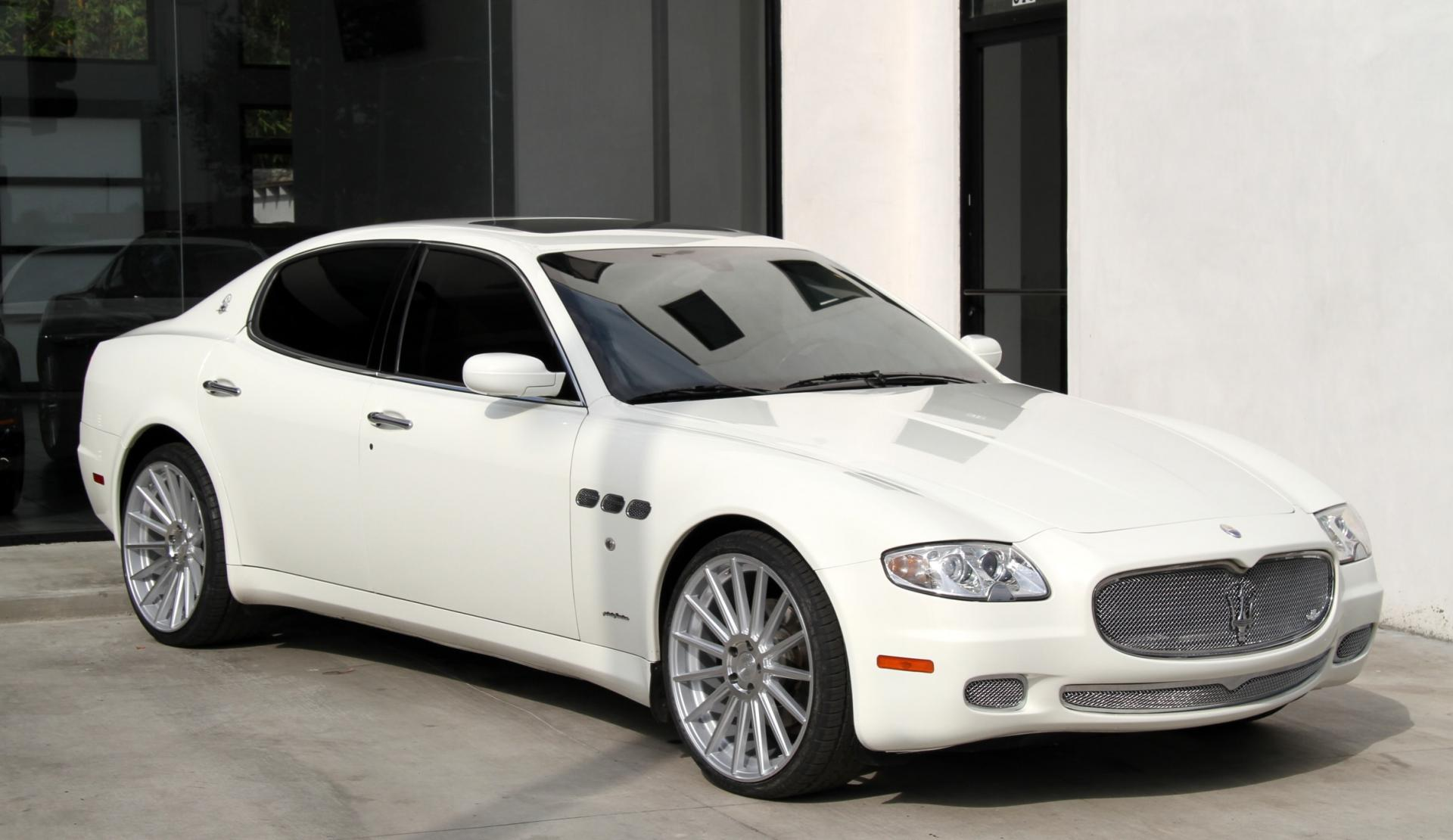 2008 Maserati Quattroporte Executive Gt Automatic Stock