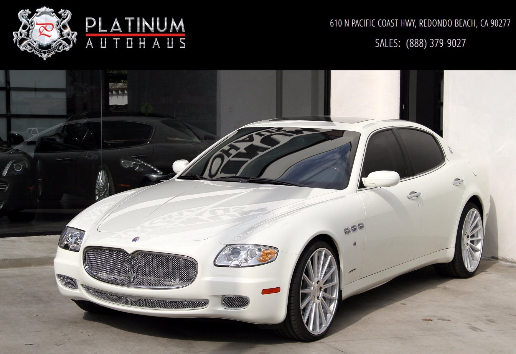 2008 maserati quattroporte executive gt automatic stock. Black Bedroom Furniture Sets. Home Design Ideas