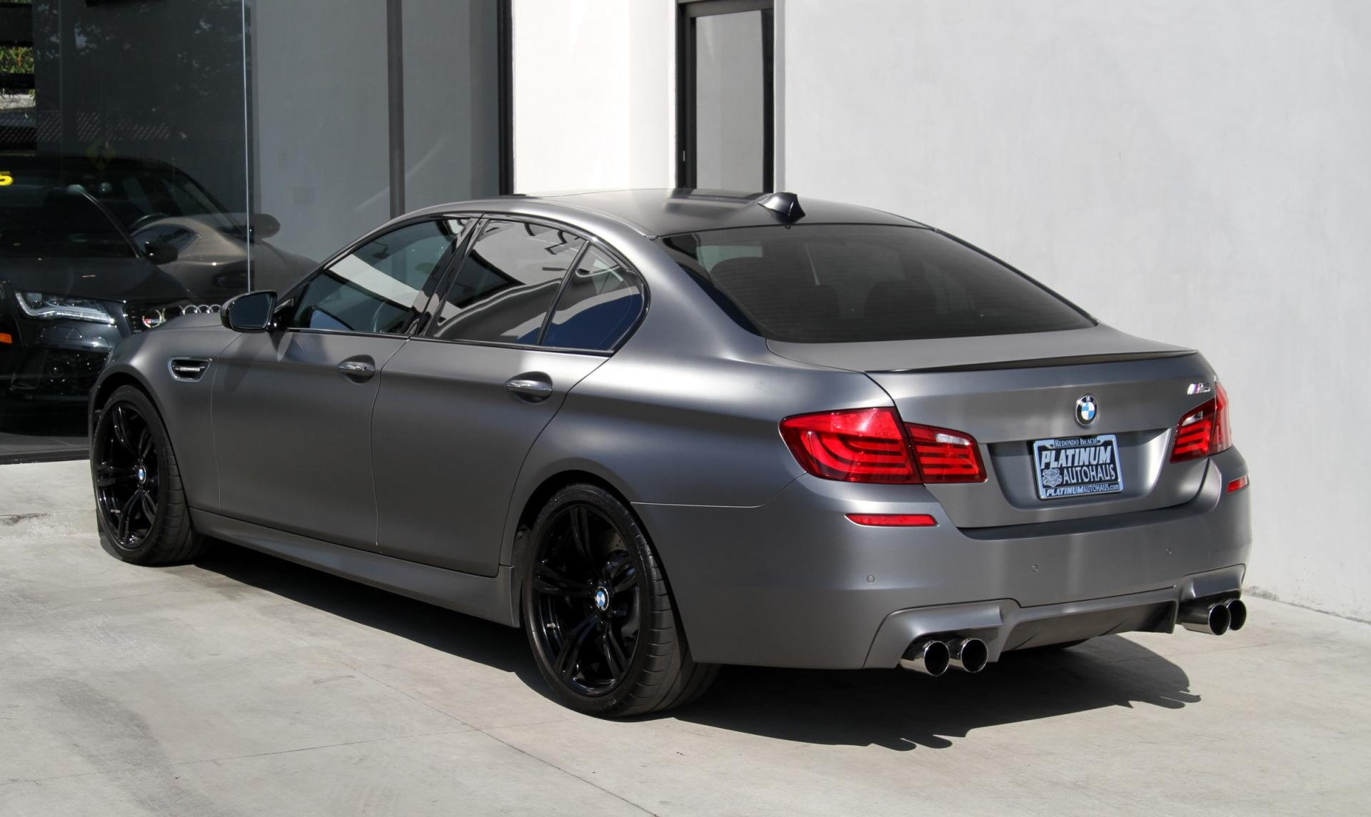 2013 Bmw M5 Matte Paint Stock 6008 For Sale Near Redondo Beach Ca Ca Bmw Dealer