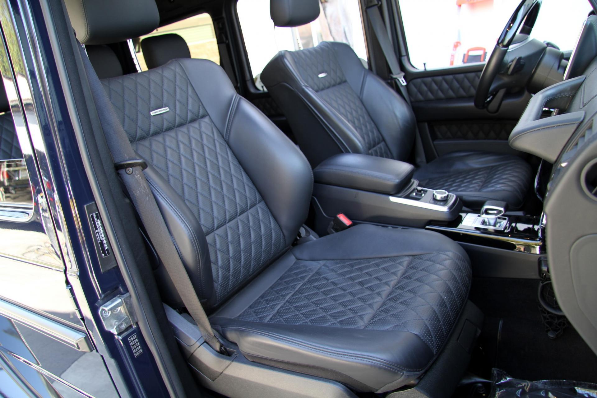2015 Mercedes-Benz G63 AMG 4MATIC **Diamond Stitched Seats ...