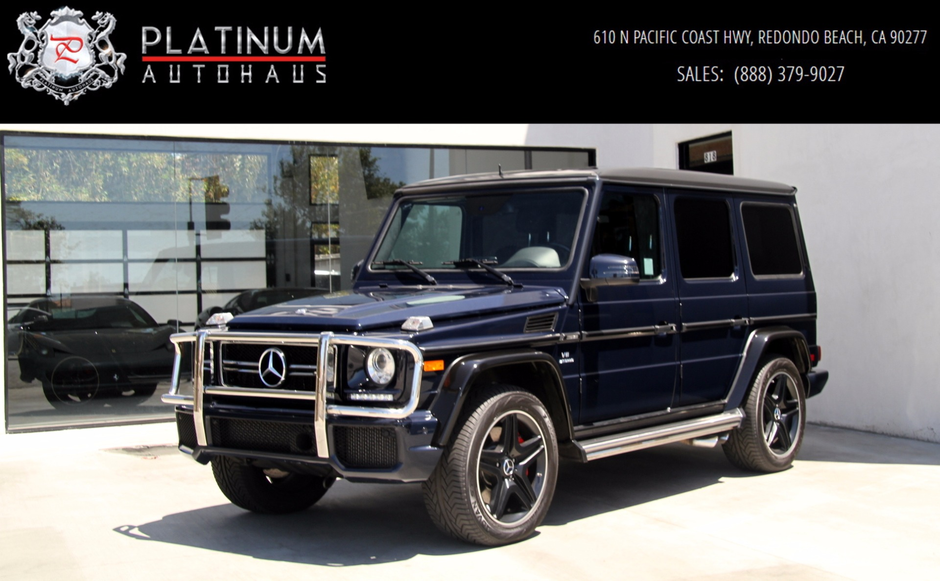 2015 mercedes benz g63 amg 4matic diamond stitched seats for Mercedes benz dealership for sale