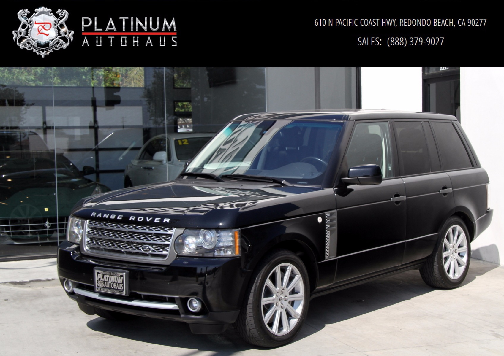 2011 land rover range rover supercharged stock 5969 for. Black Bedroom Furniture Sets. Home Design Ideas