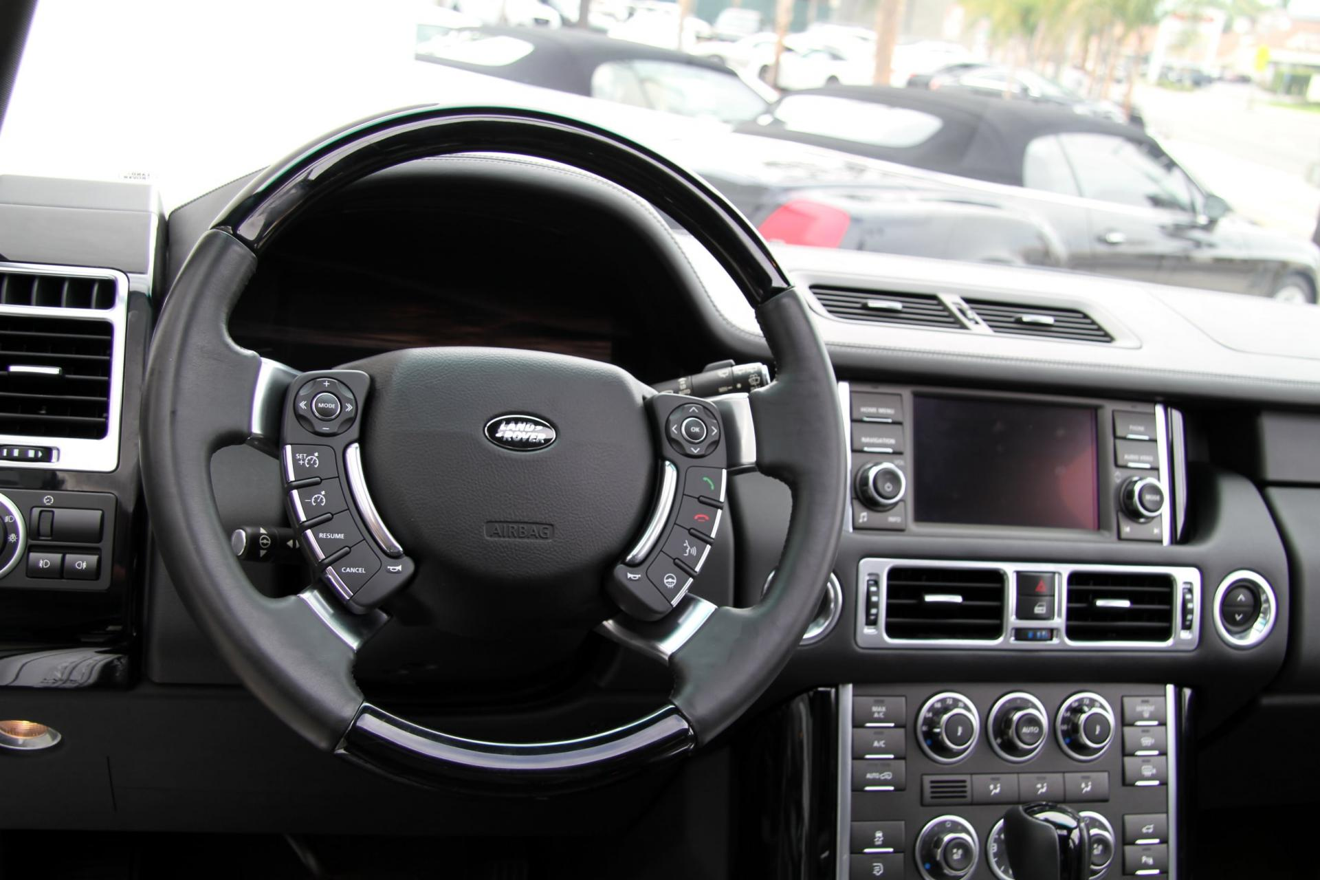2012 Land Rover Range Rover Hse Luxury Package Stock