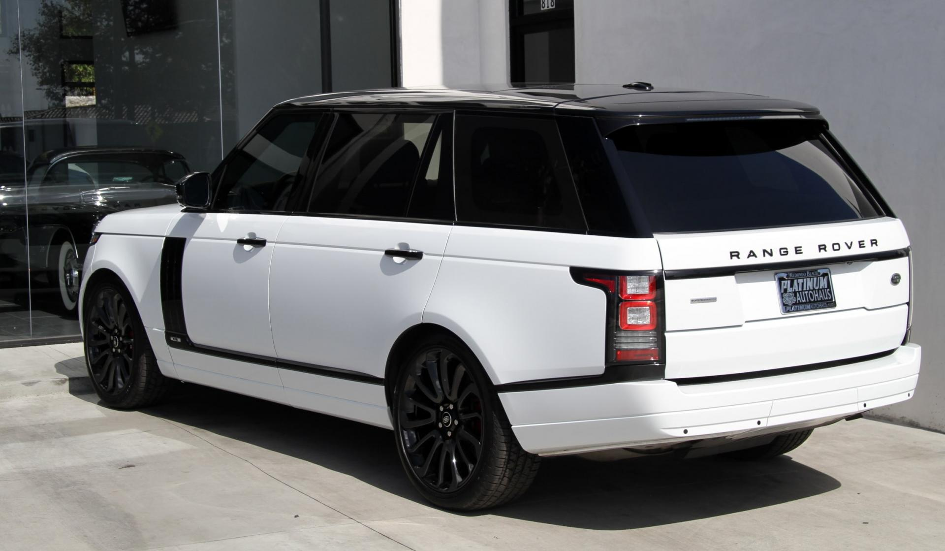2015 land rover range rover supercharged long wheel base stock 6375a for sale near. Black Bedroom Furniture Sets. Home Design Ideas