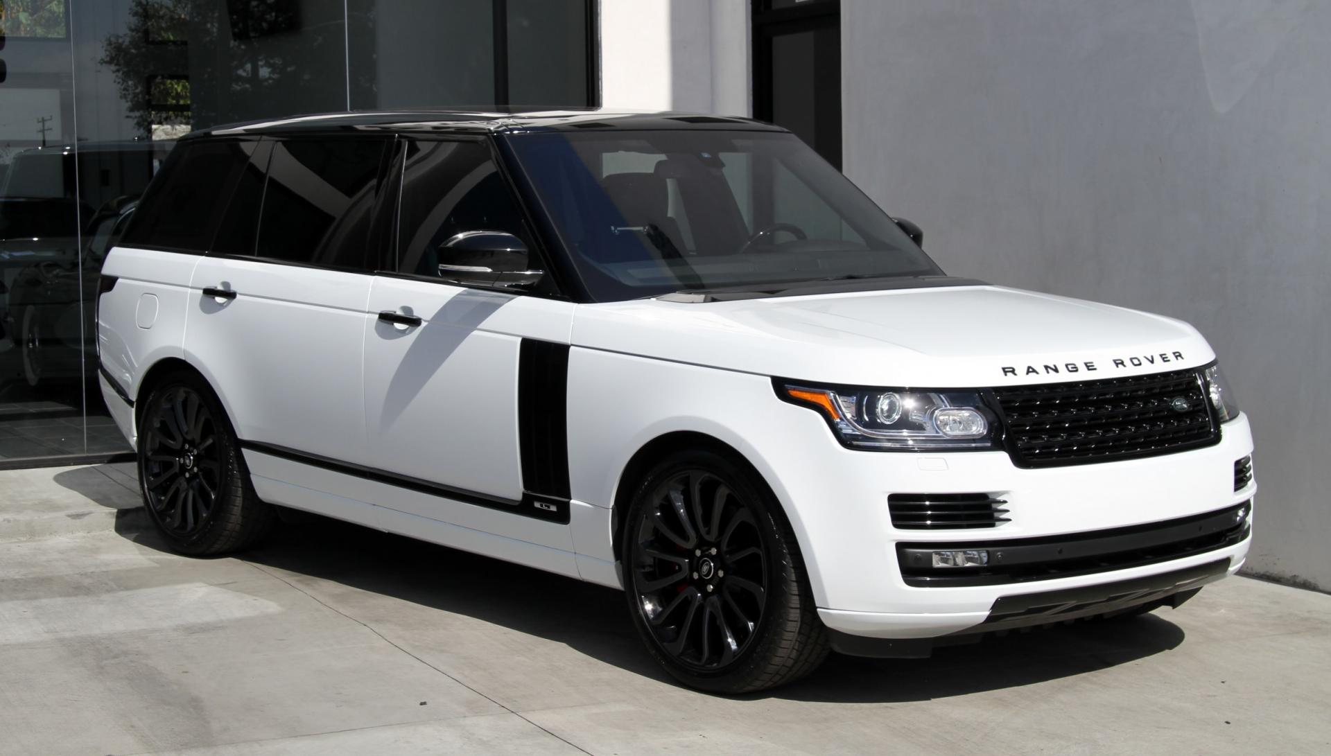 2015 land rover range rover supercharged long wheel base stock 6014 for sale near - Land rover garage near me ...