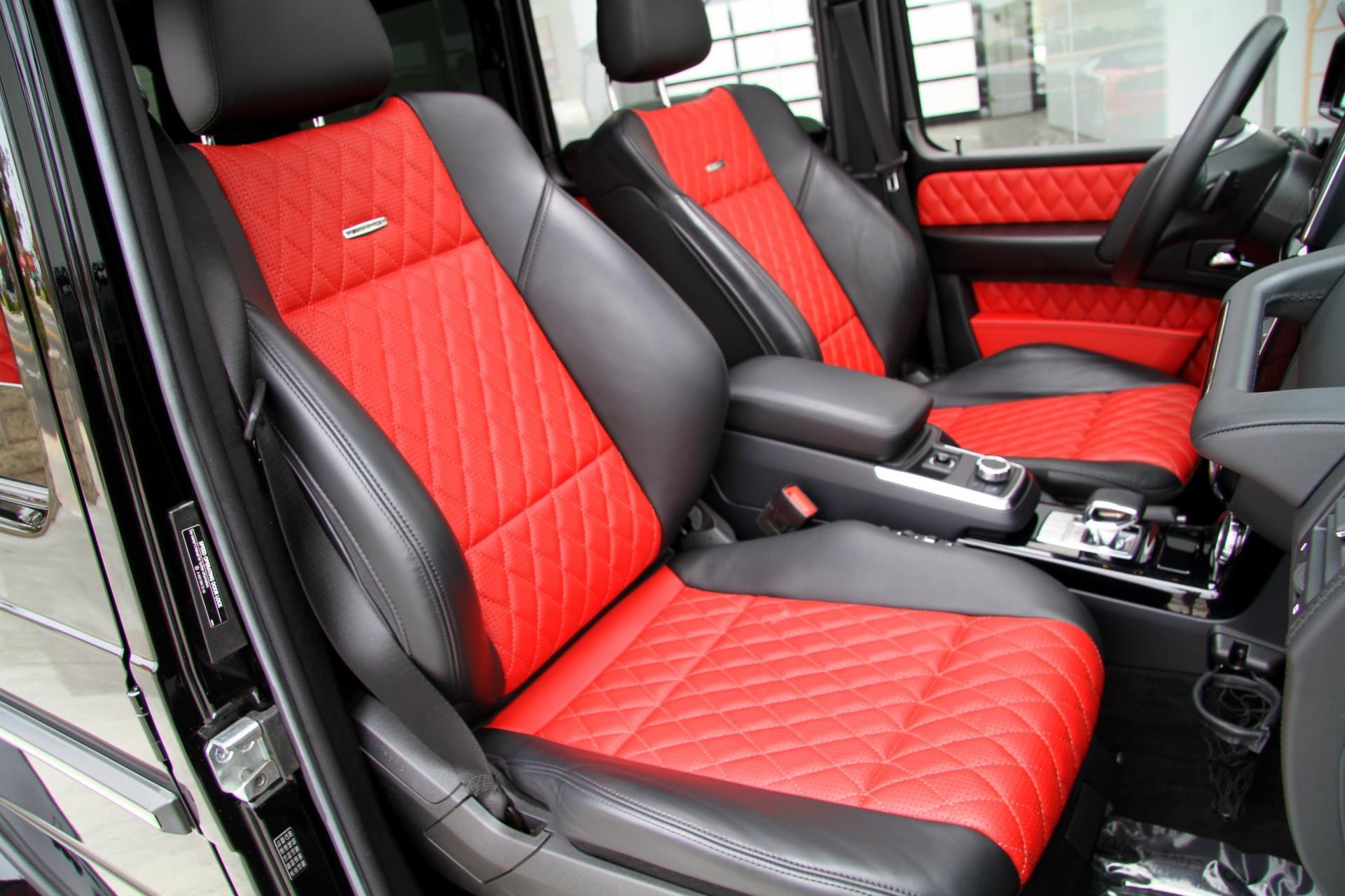 2015 Mercedes Benz G63 Amg 4matic Diamond Stitched Seats