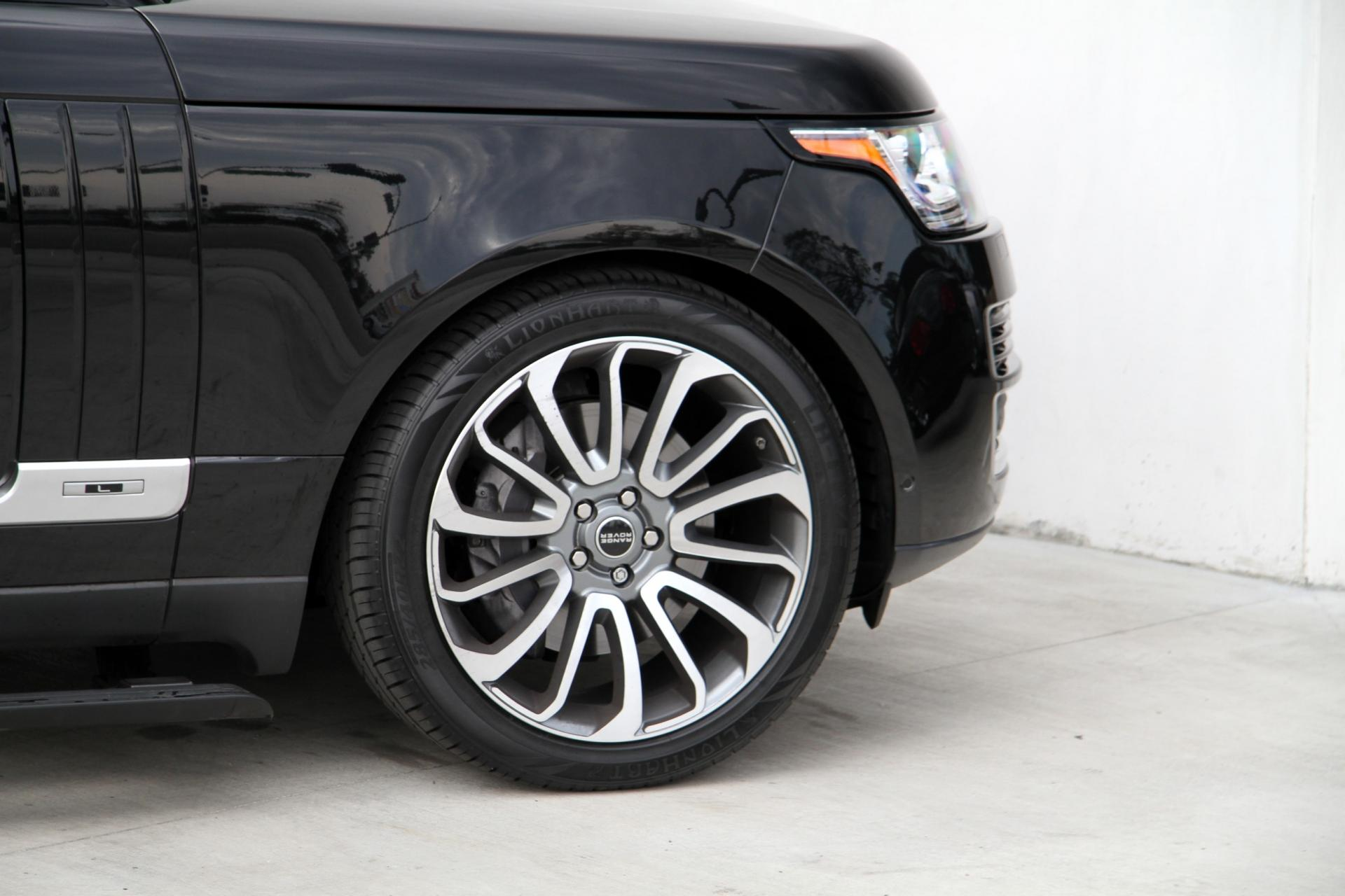 2015 Land Rover Range Rover Supercharged LONG WHEEL BASE Stock