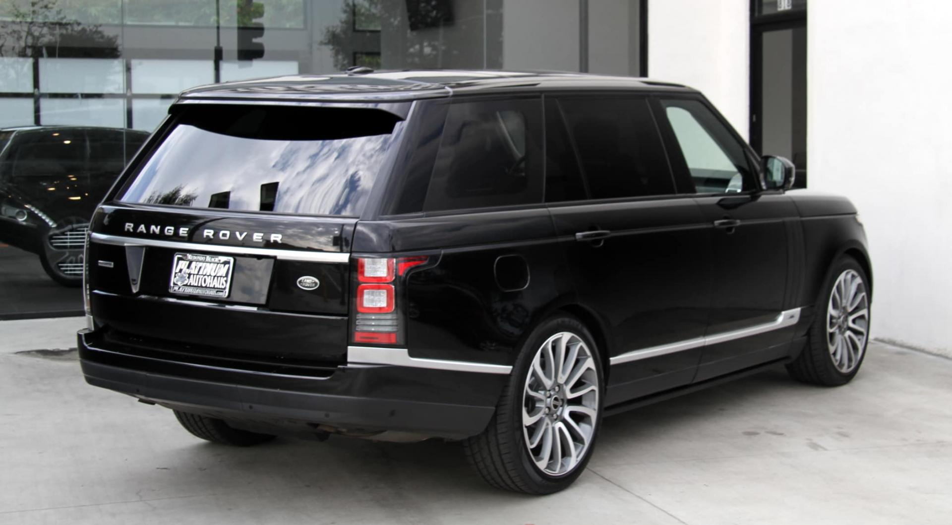 2015 Land Rover Range Rover Supercharged Long Wheel