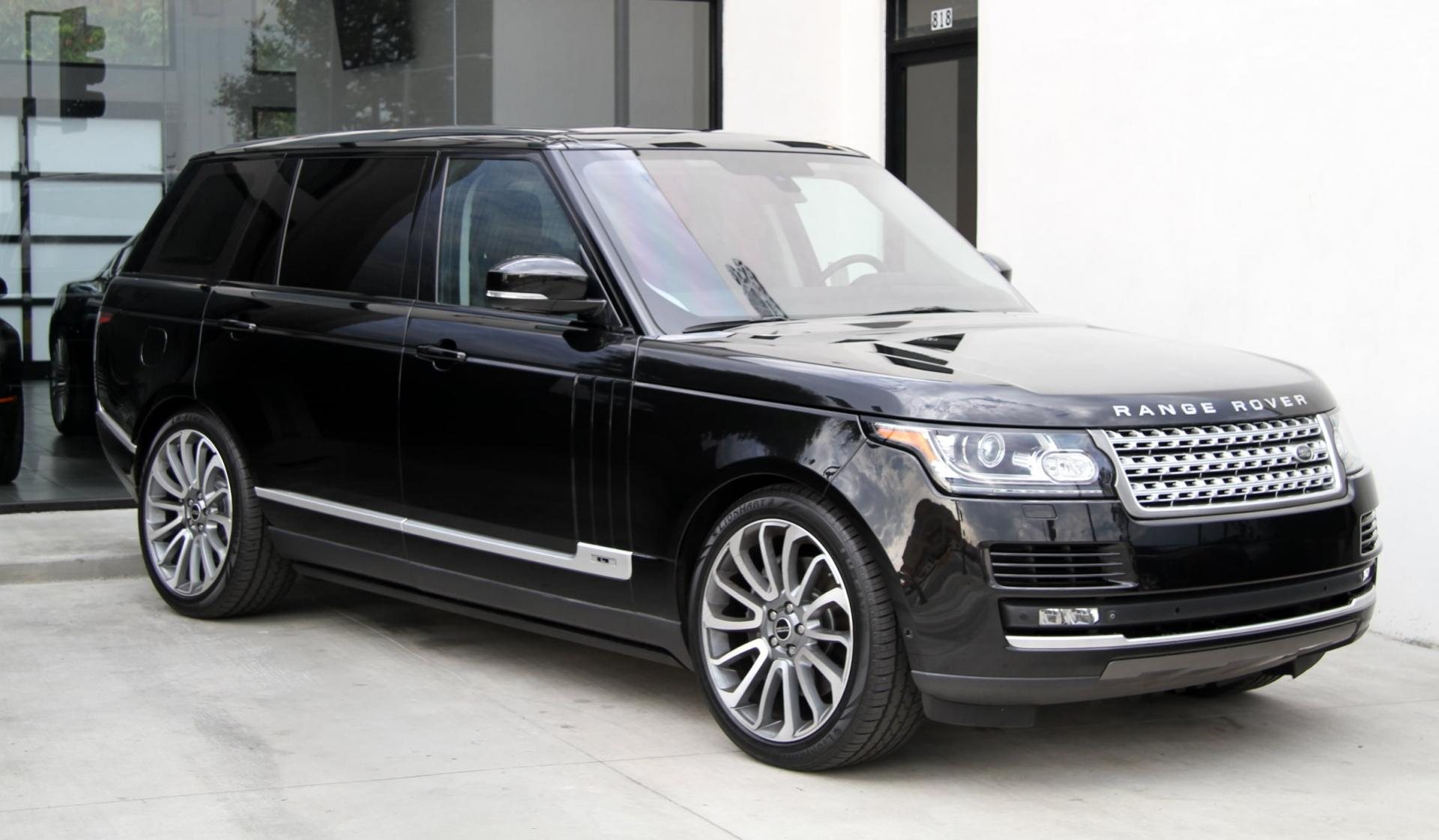 Range Rover Used For Sale >> 2015 Land Rover Range Rover Supercharged ** LONG WHEEL BASE ** Stock # 5974 for sale near ...